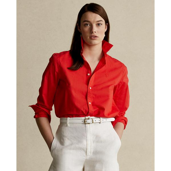 Relaxed Fit Cotton Twill Shirt 2