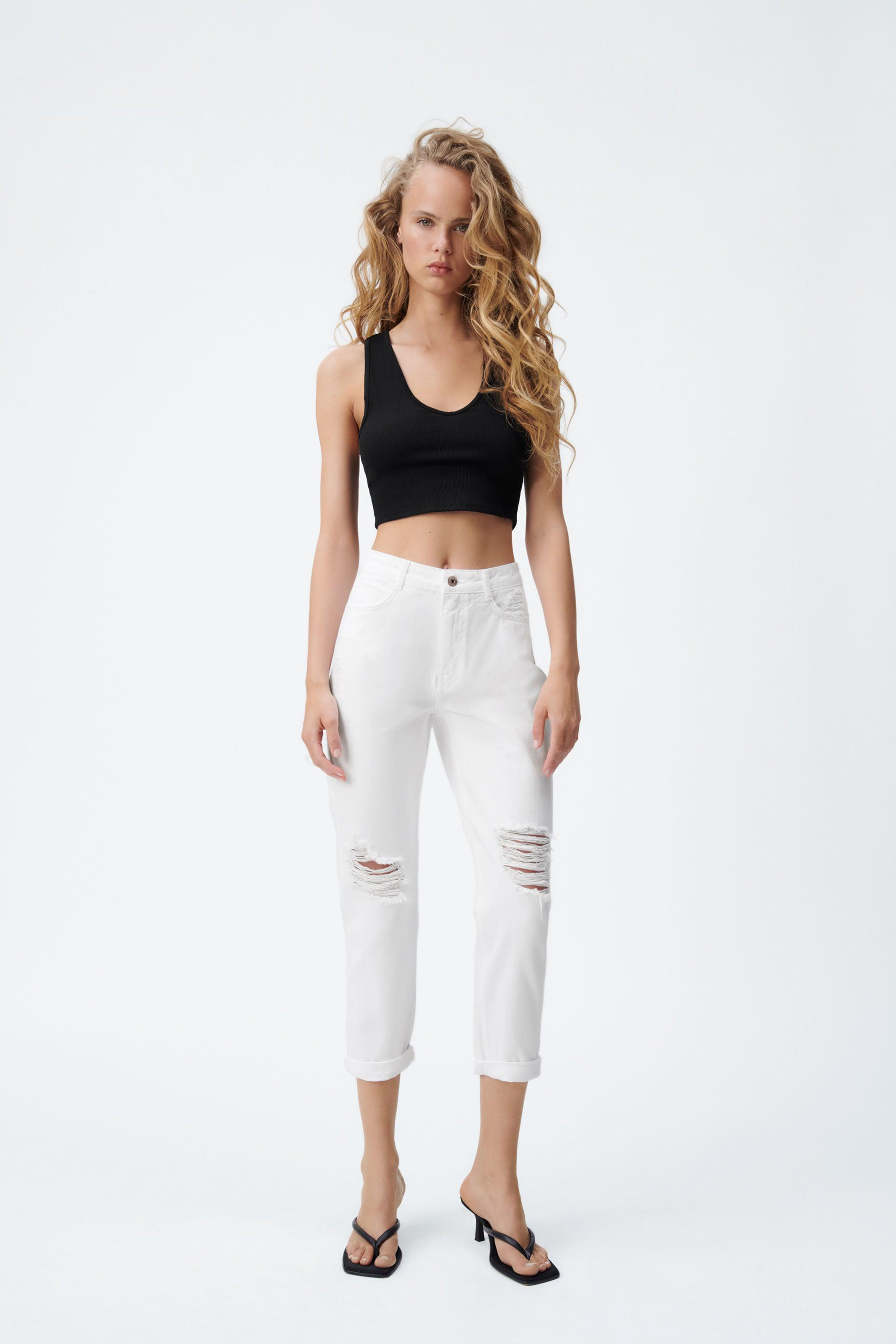 Z1975 RELAXED FIT RIPPED JEANS