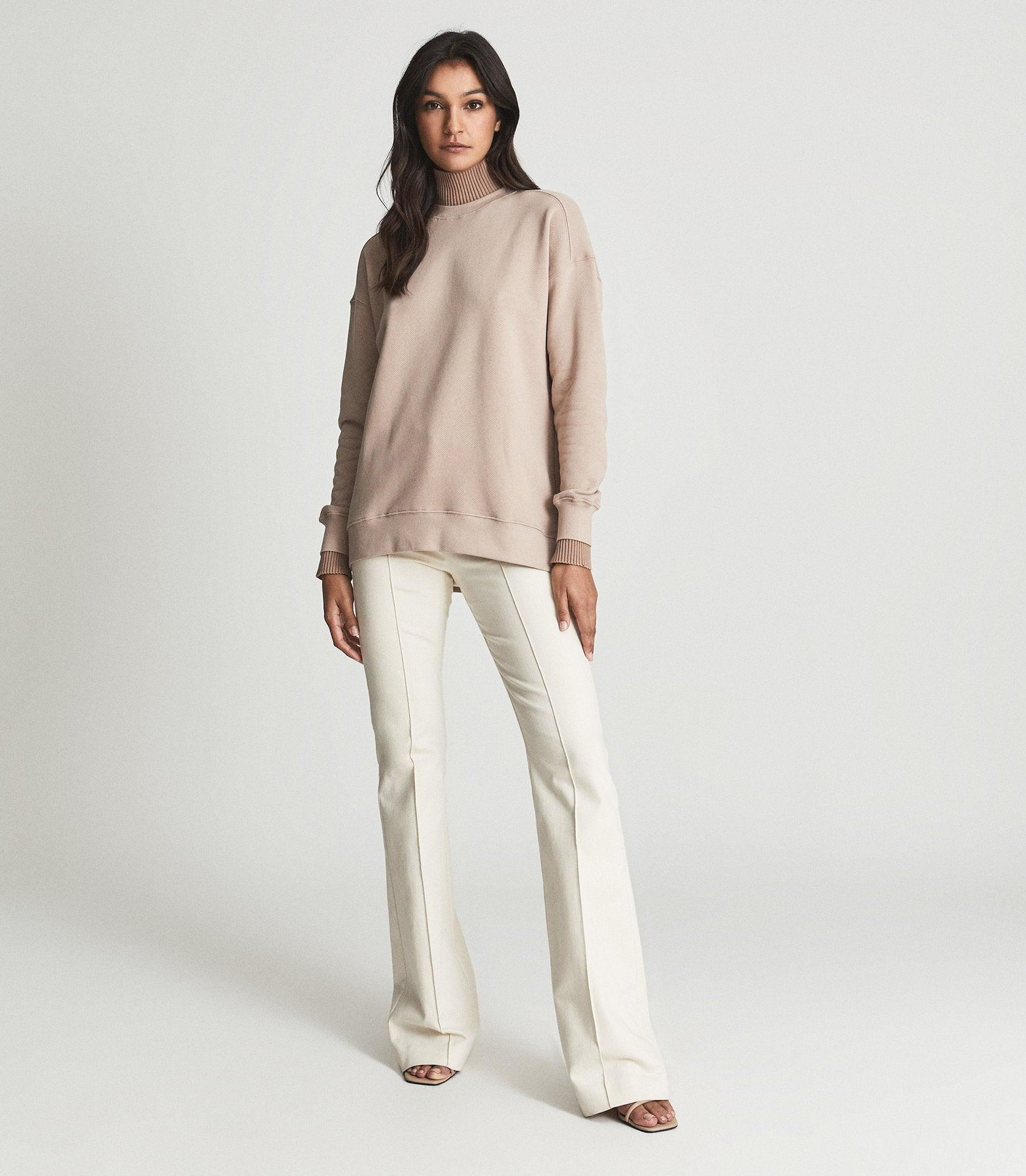ROBYN - RIBBED ROLL-NECK SWEATER