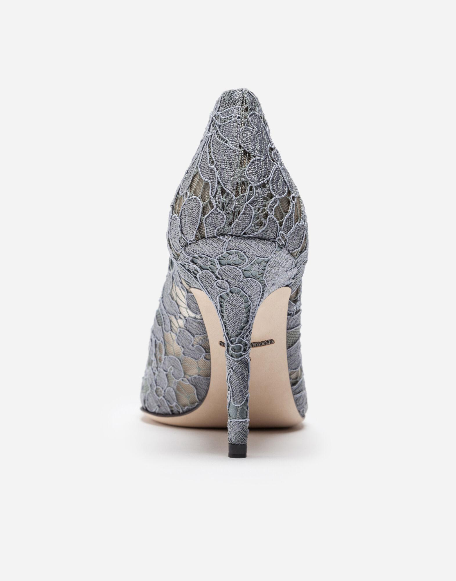 Pump in Taormina lace with crystals 3