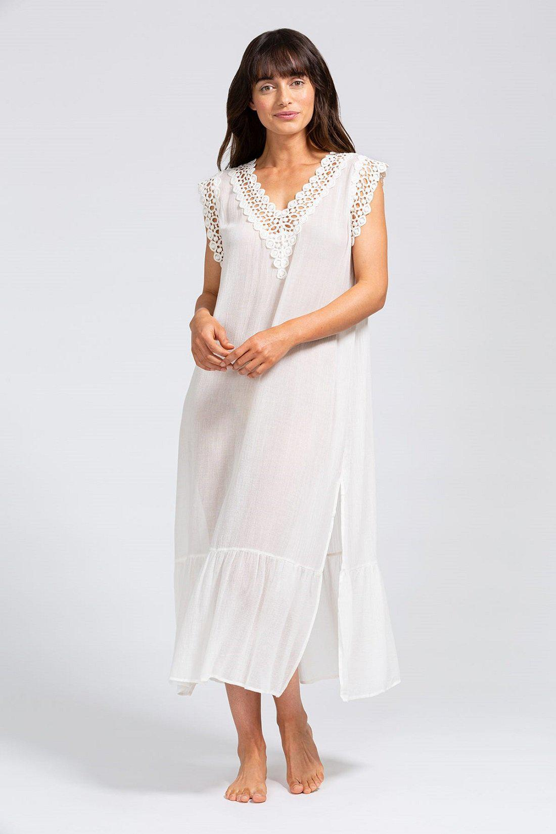 Costa Breezy Weave Cover-Up - Cloud