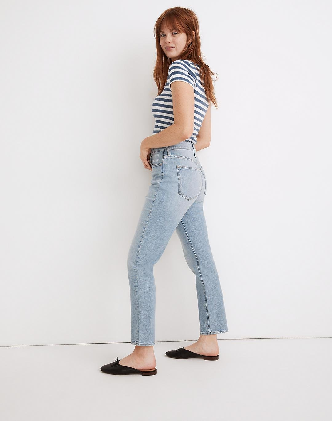 The Curvy Perfect Vintage Jean in Fiore Wash 1