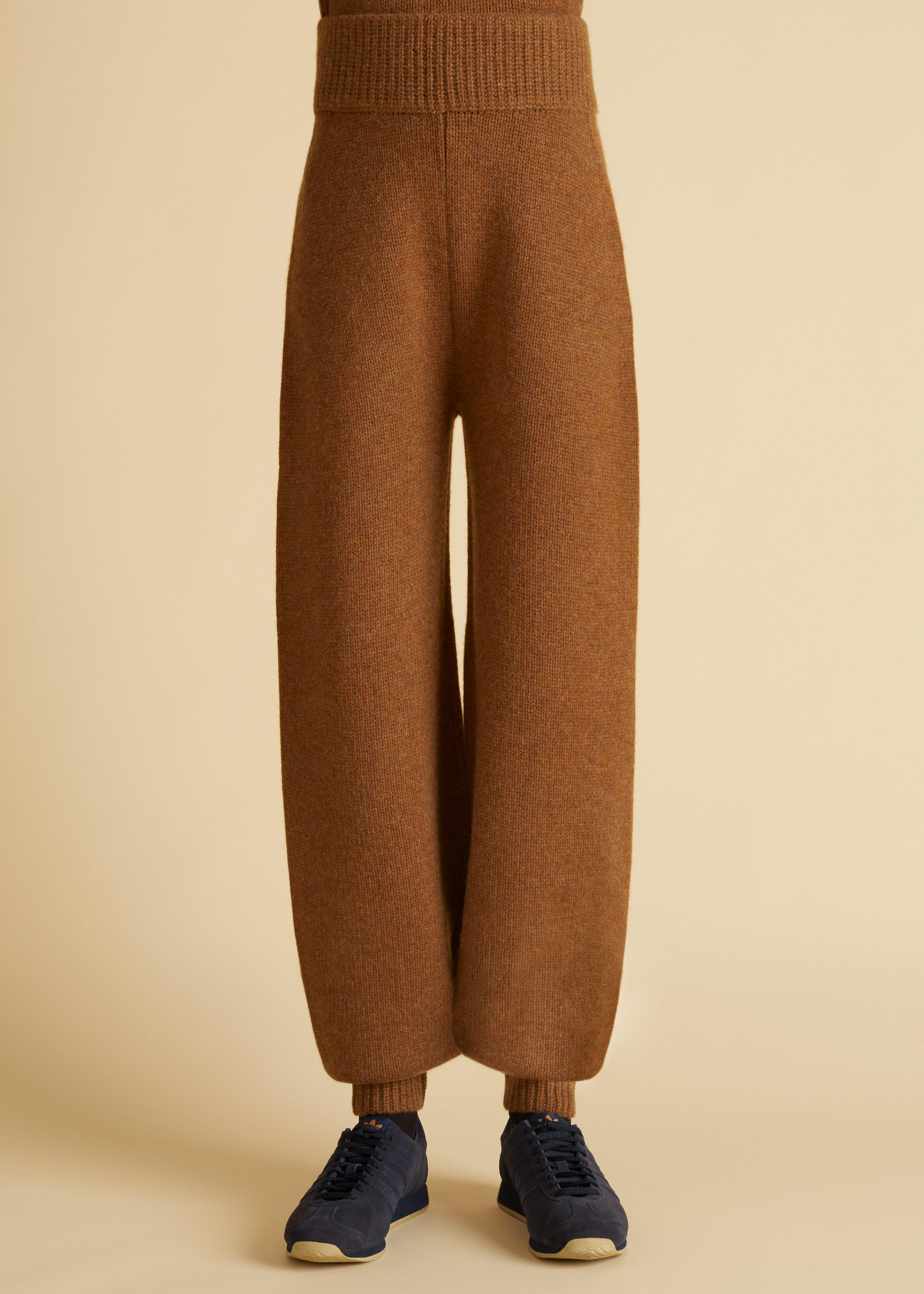 The Joey Pant in Walnut 1
