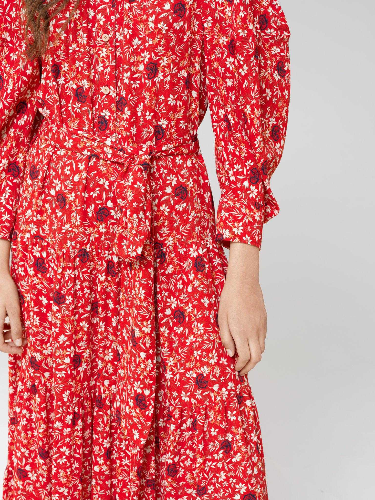 LONG DRESS WITH PRINT 3