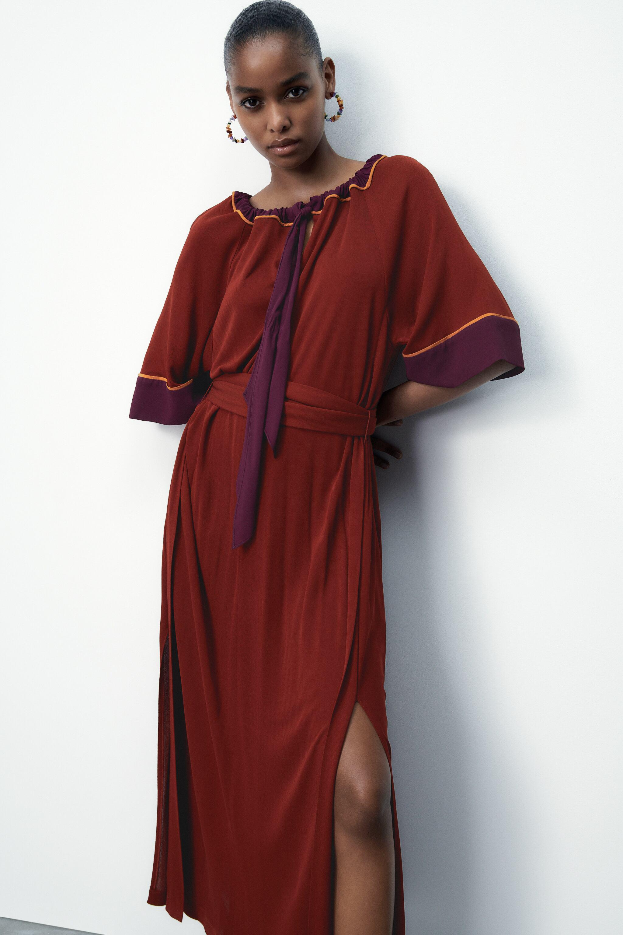 LIMITED EDITION CONTRASTING DRESS 3