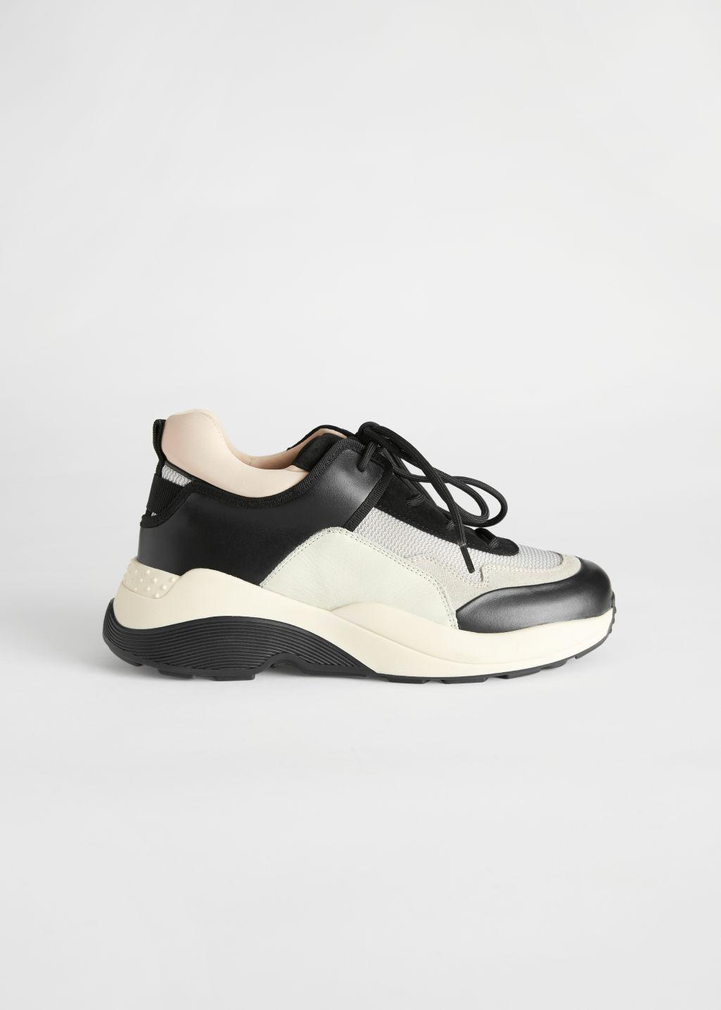 Chunky Sole Technical Sneakers