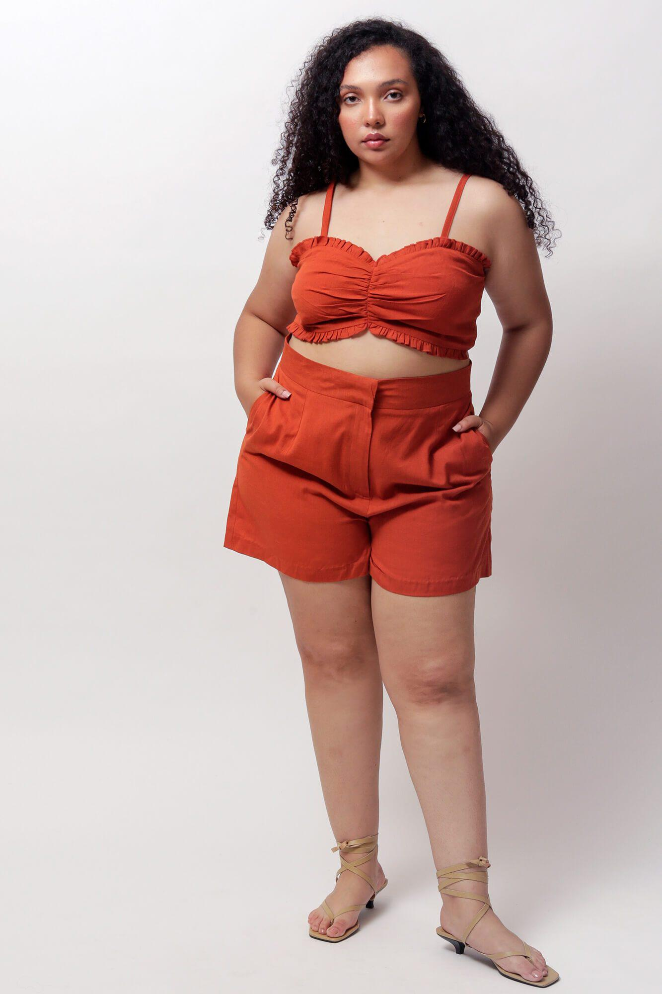 Potter's Clay River High-Waisted Shorts 3