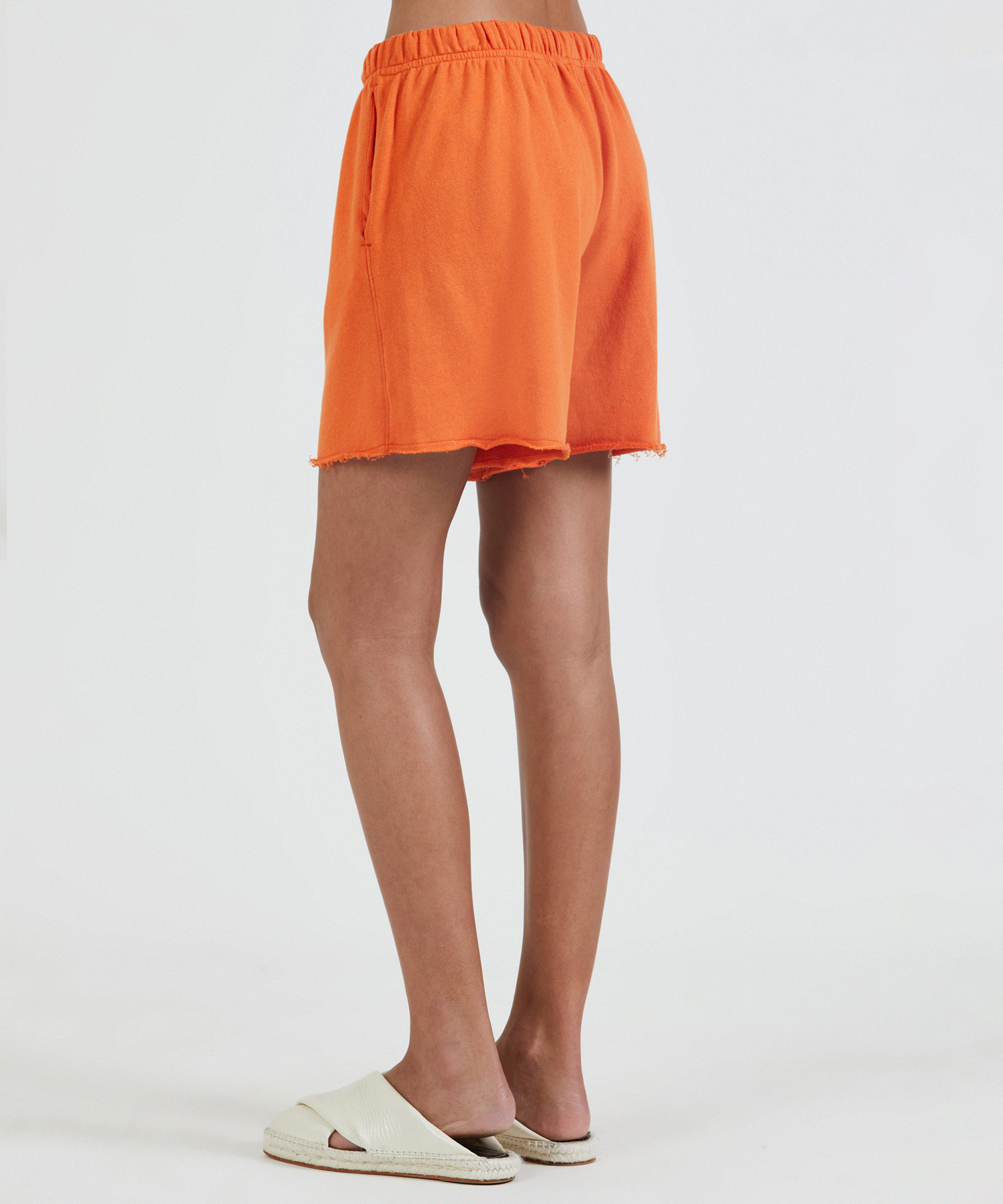French Terry Pull-On Short - Clementine 2