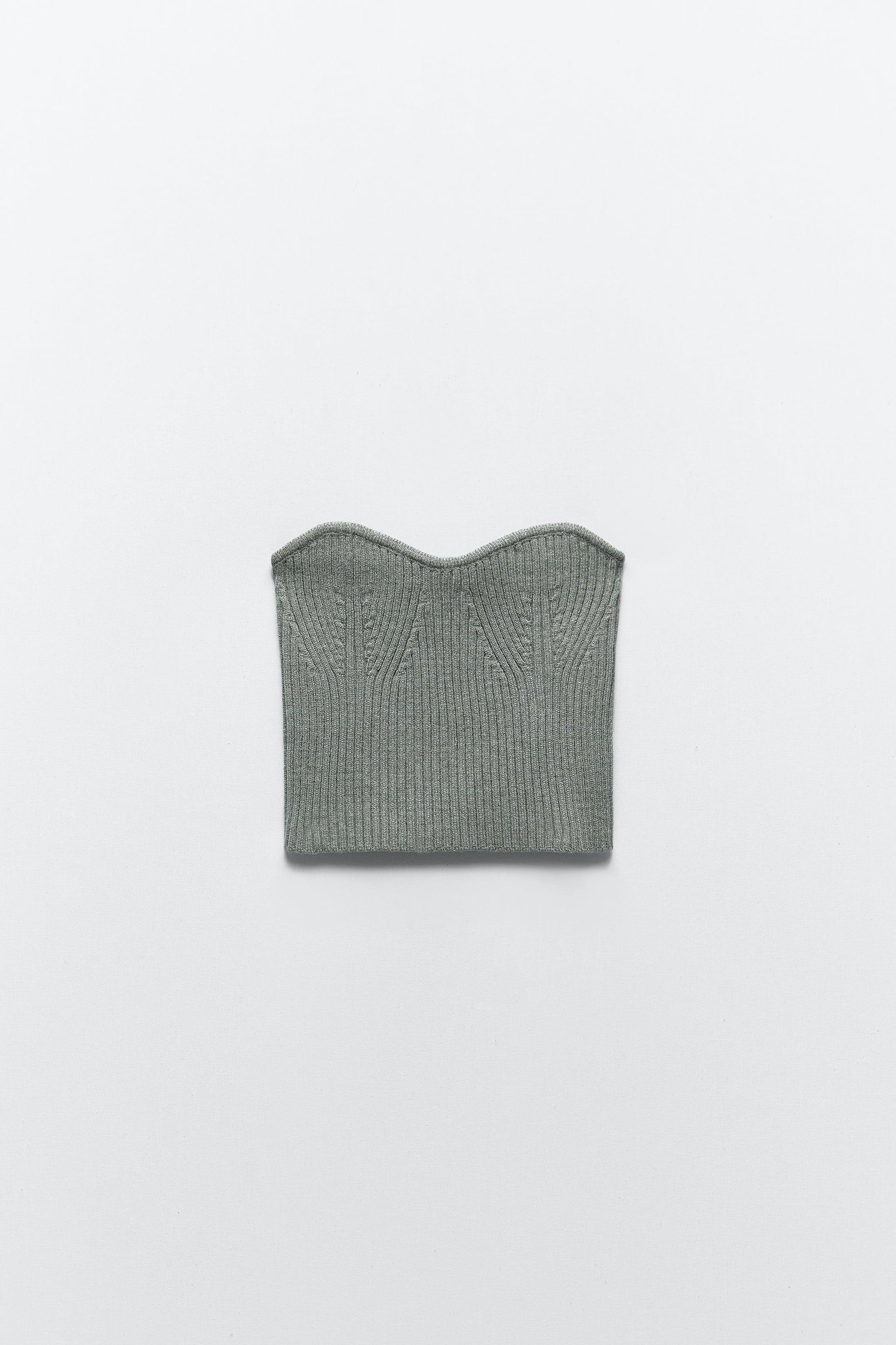 CROPPED KNIT TOP 8