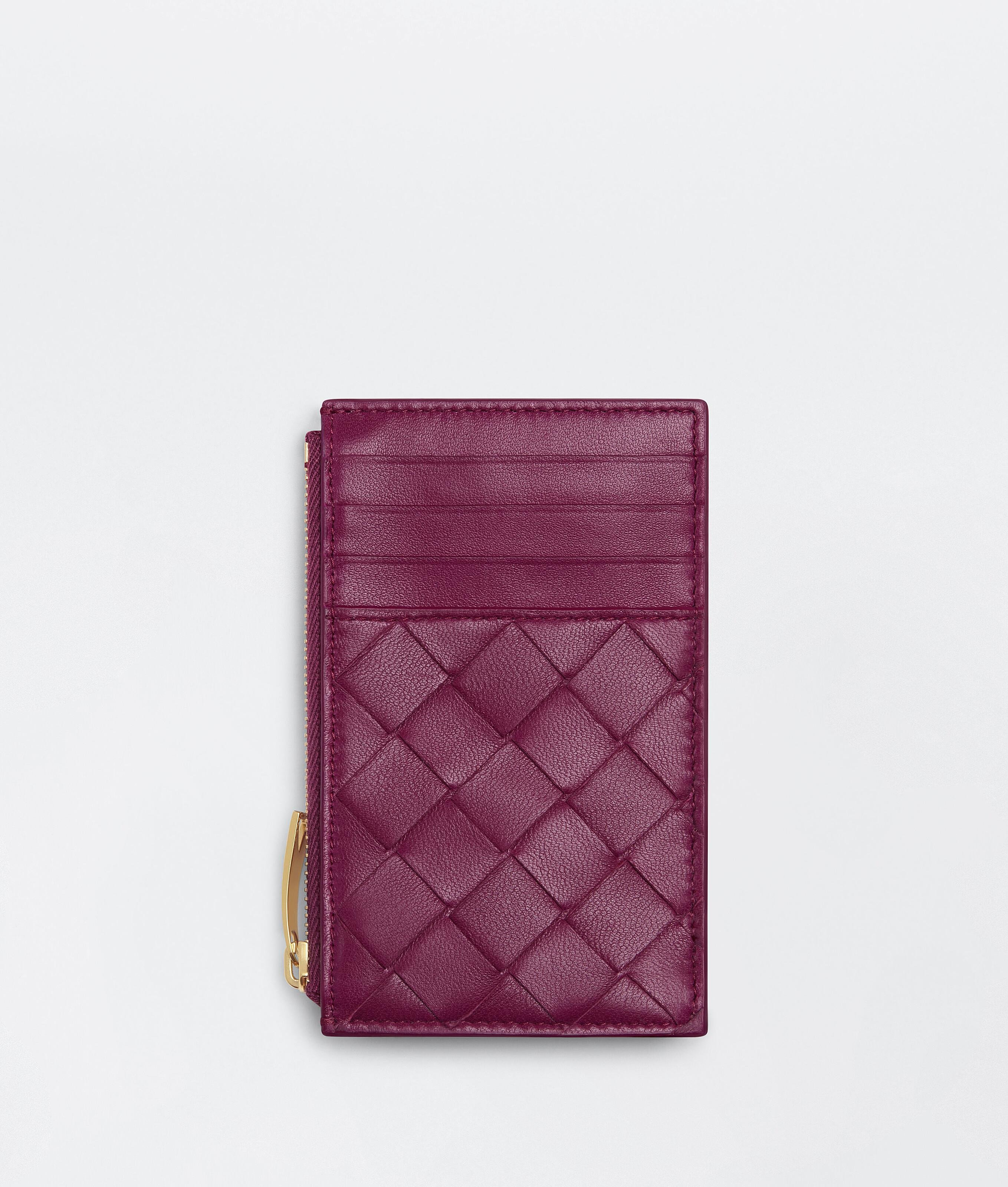 ZIPPED CARD CASE WITH COIN PURSE