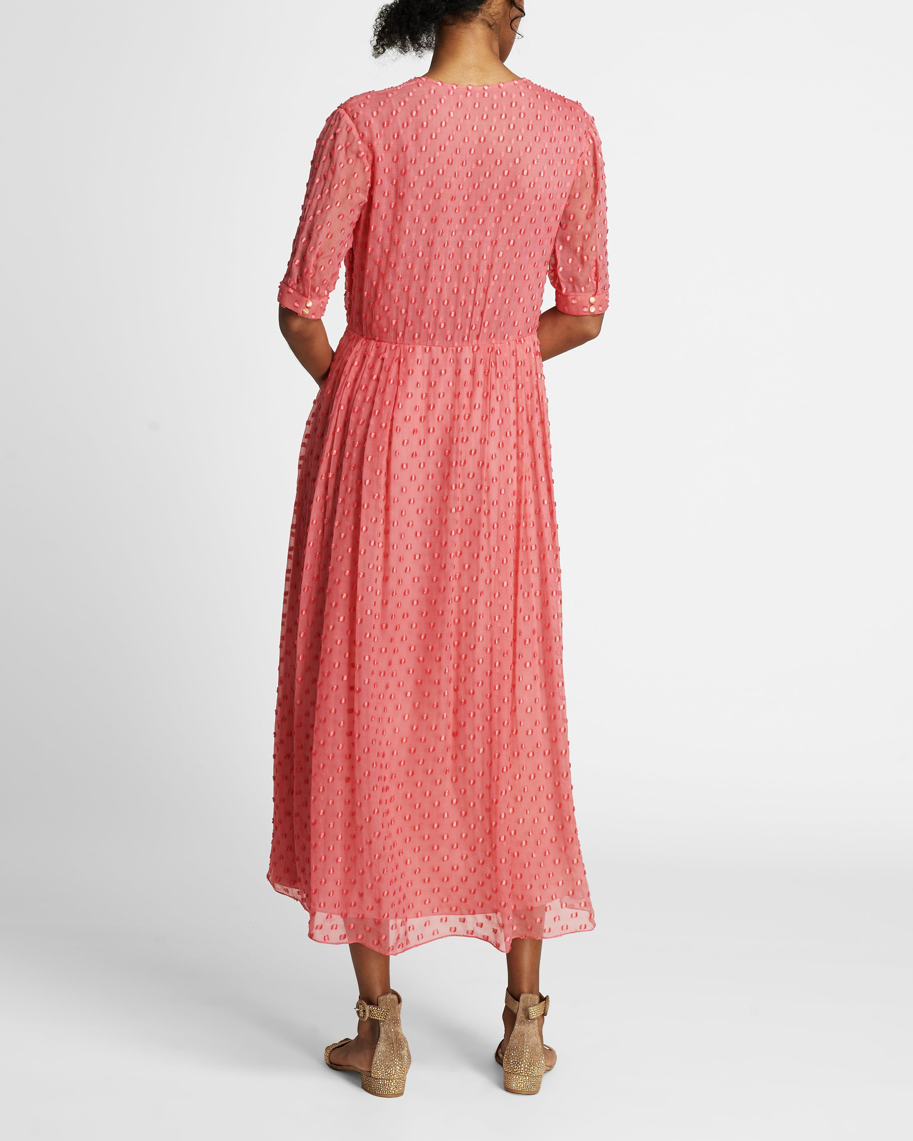 The Ivy Dress   Coral 4