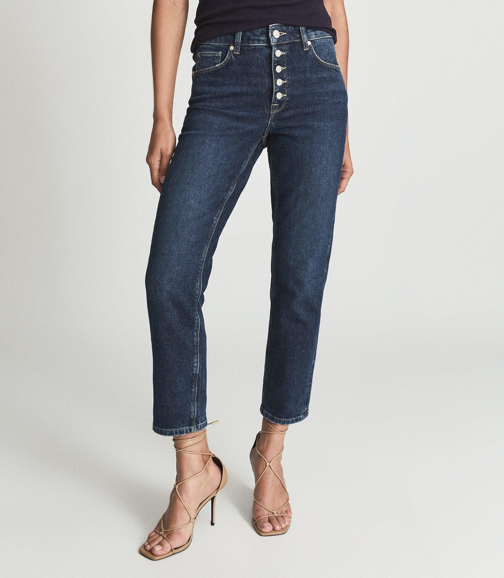 BAILEY - MID RISE SLIM CROPPED JEANS 1