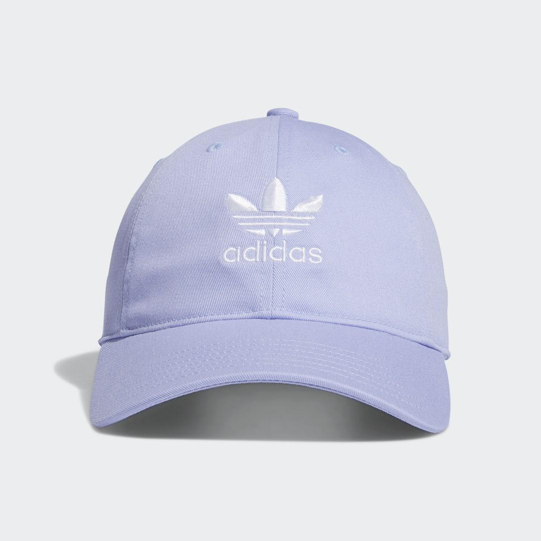 Relaxed Strap-Back Hat Purple - Originals Hats