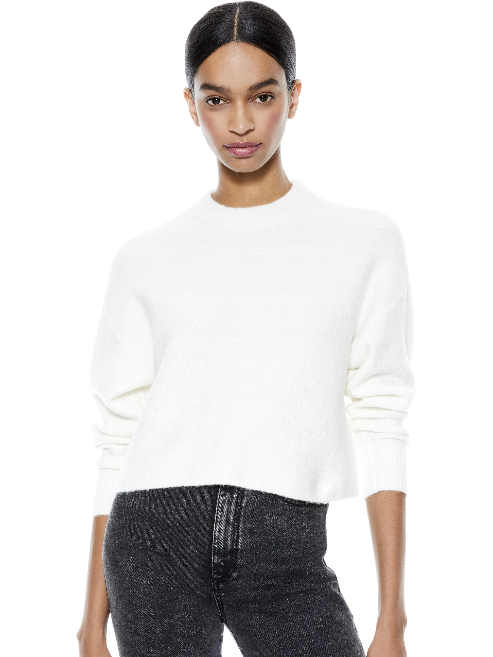 MAXDEN CROPPED PULLOVER
