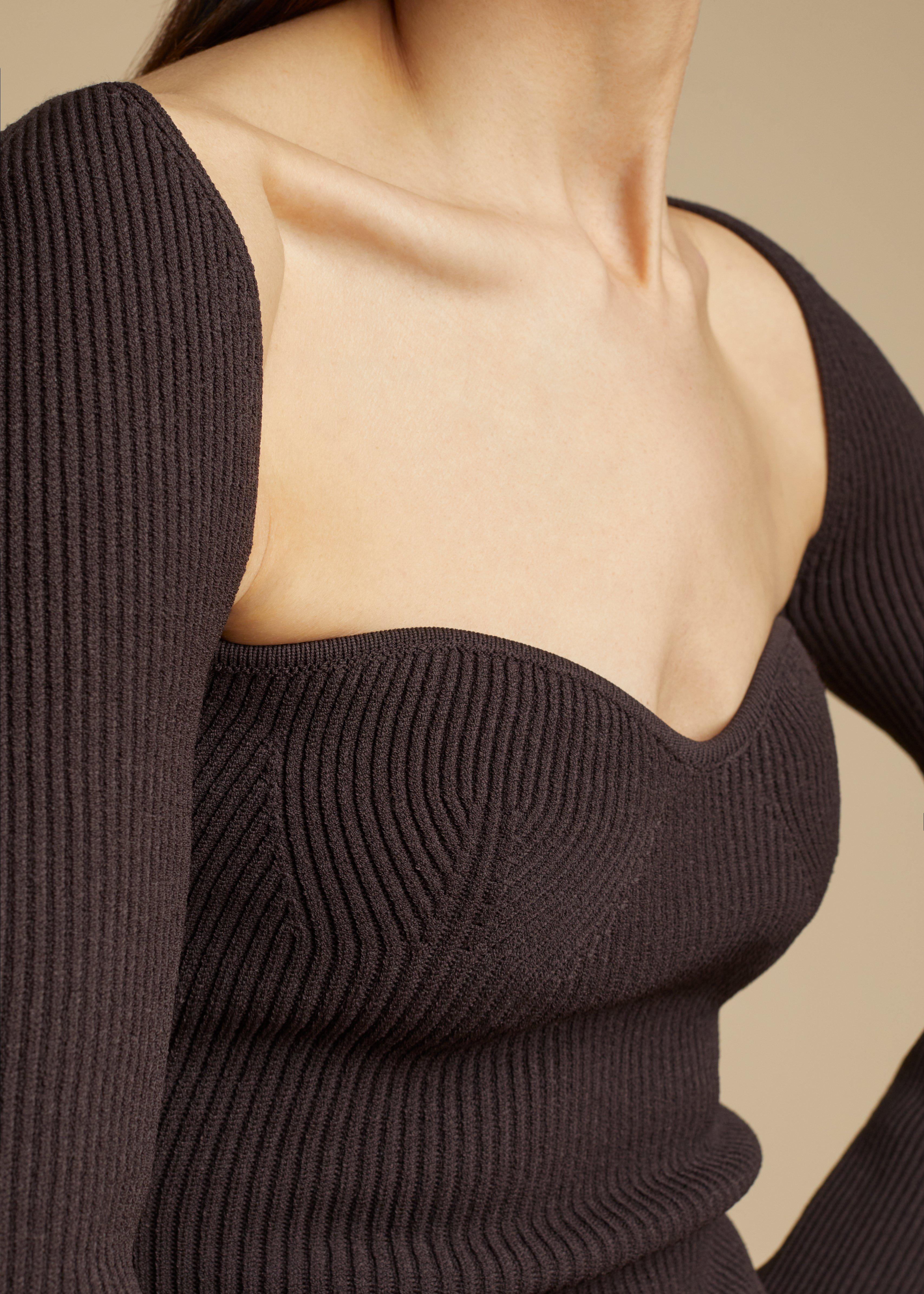 The Maddy Top in Chestnut 4