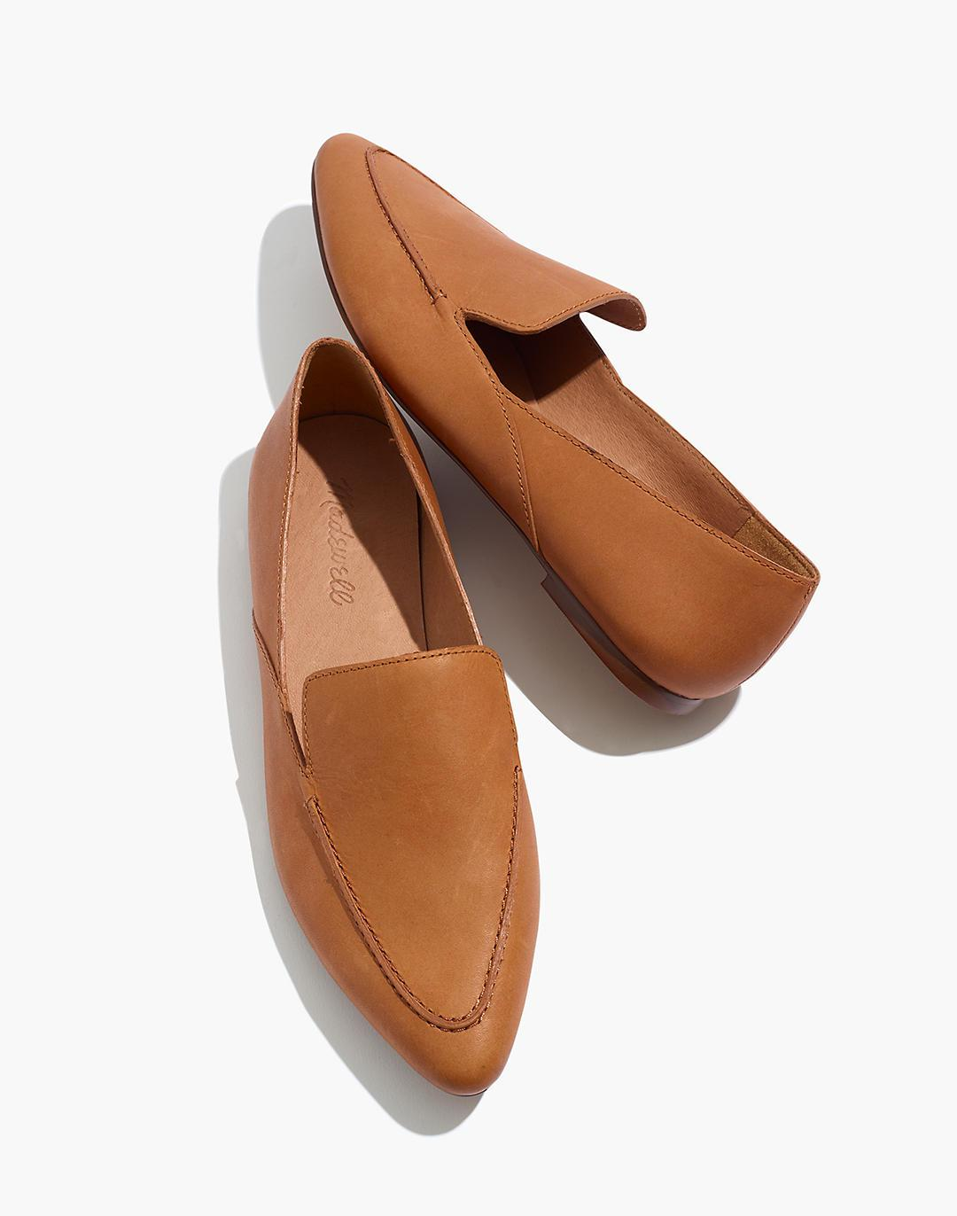 The Frances Skimmer in Leather
