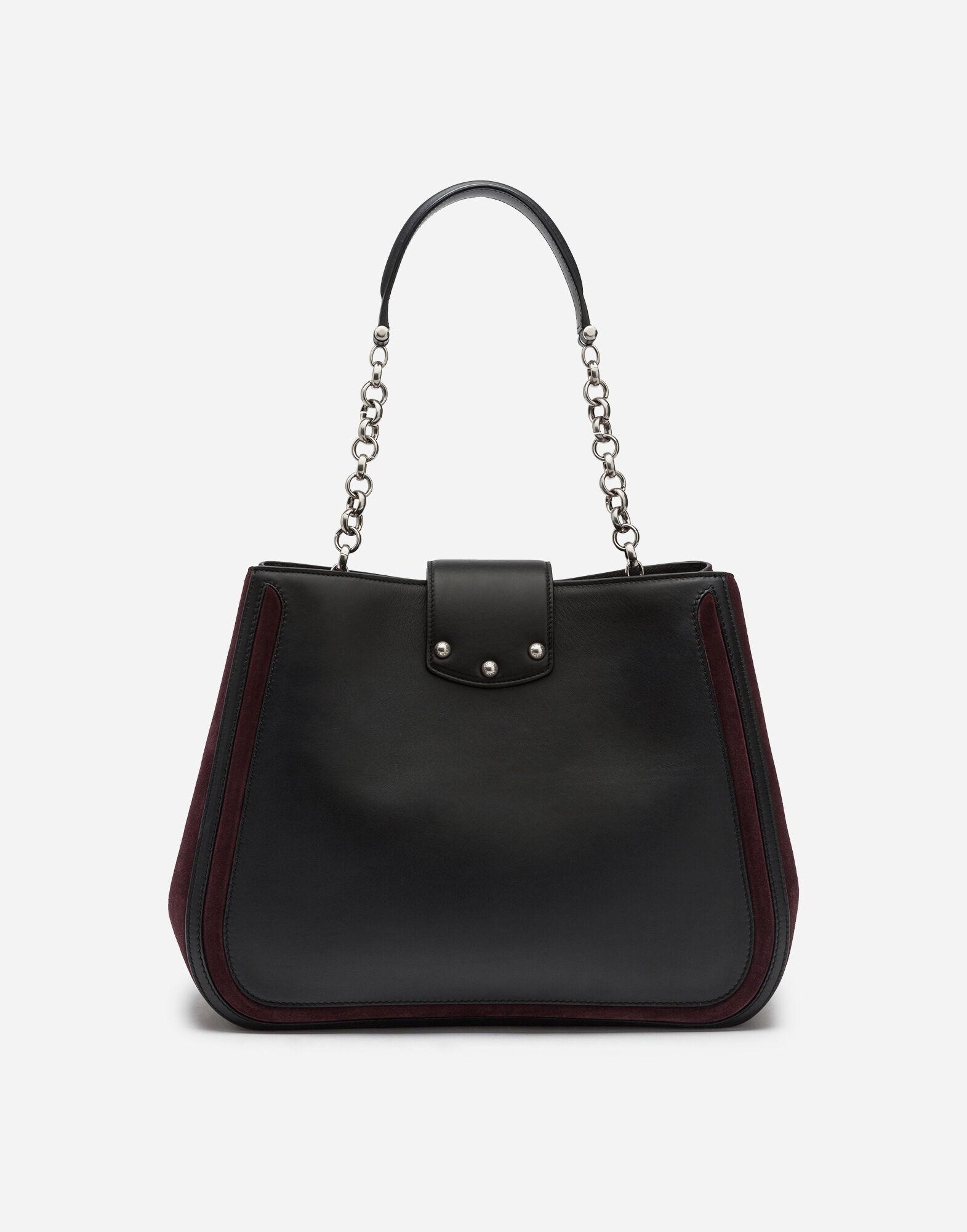 Large DG Amore bag in mixed materials 2