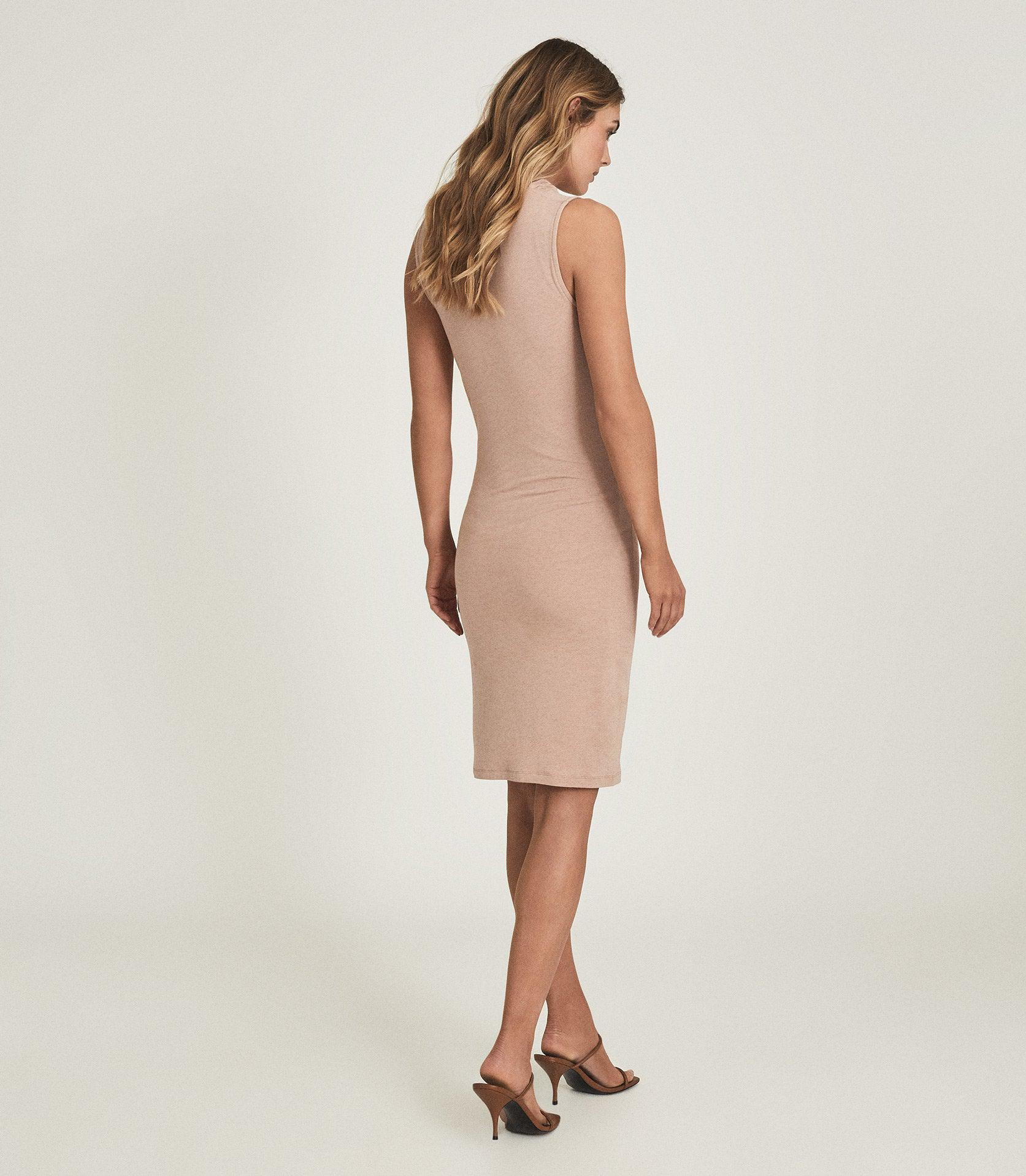 TORA - RUCHED WOOL-JERSEY BODYCON DRESS 2
