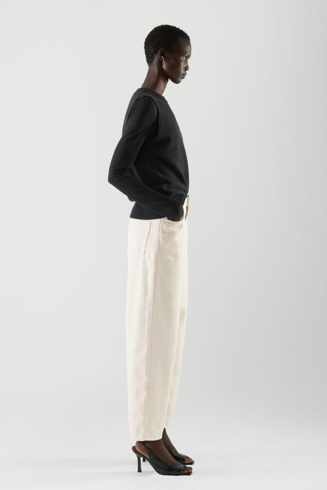 STRAIGHT MID-RISE JEANS 2
