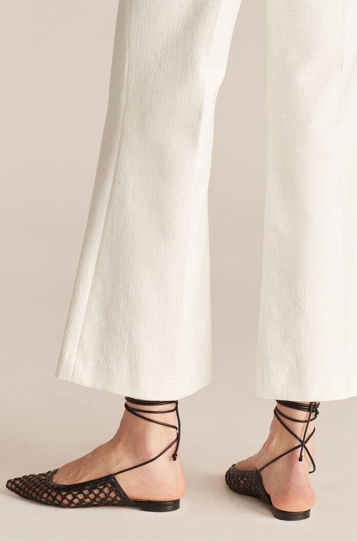 CROPPED FIT AND FLARE PANT 2