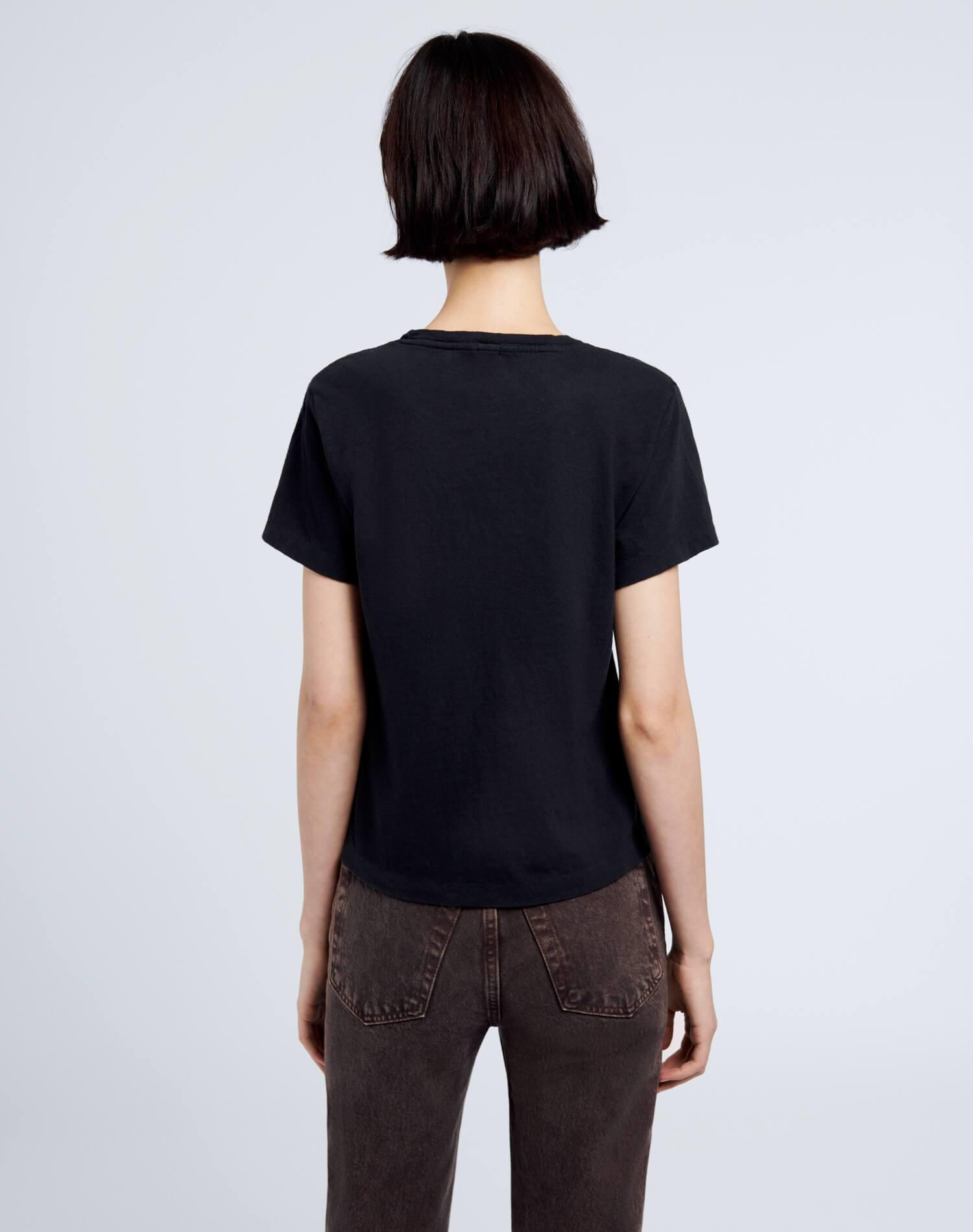 Heritage Cotton Classic Tee - Washed Black 4