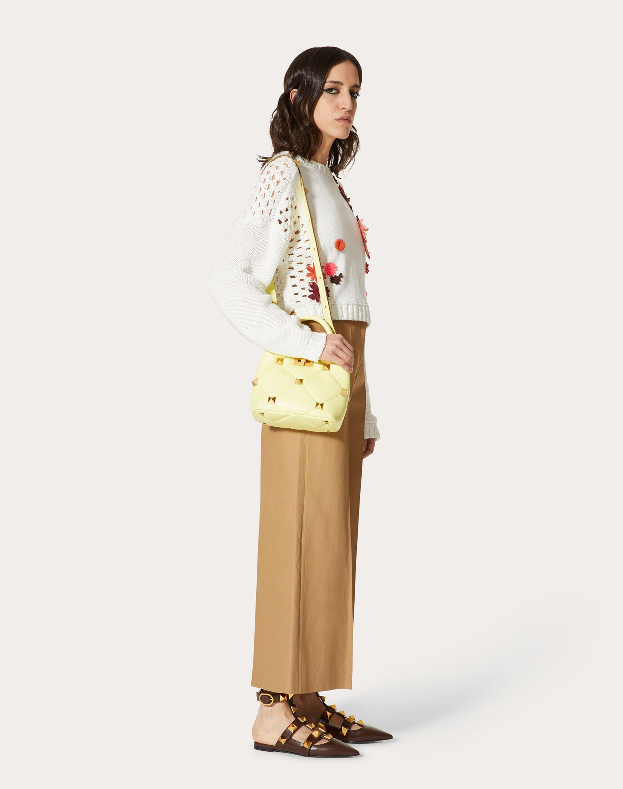 EMBROIDERED COTTON SWEATER 0