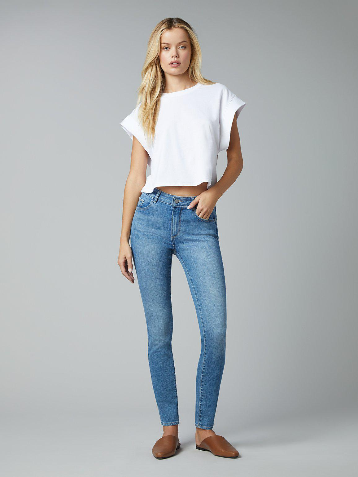 """Florence Skinny Mid Rise Instasculpt 30"""" 