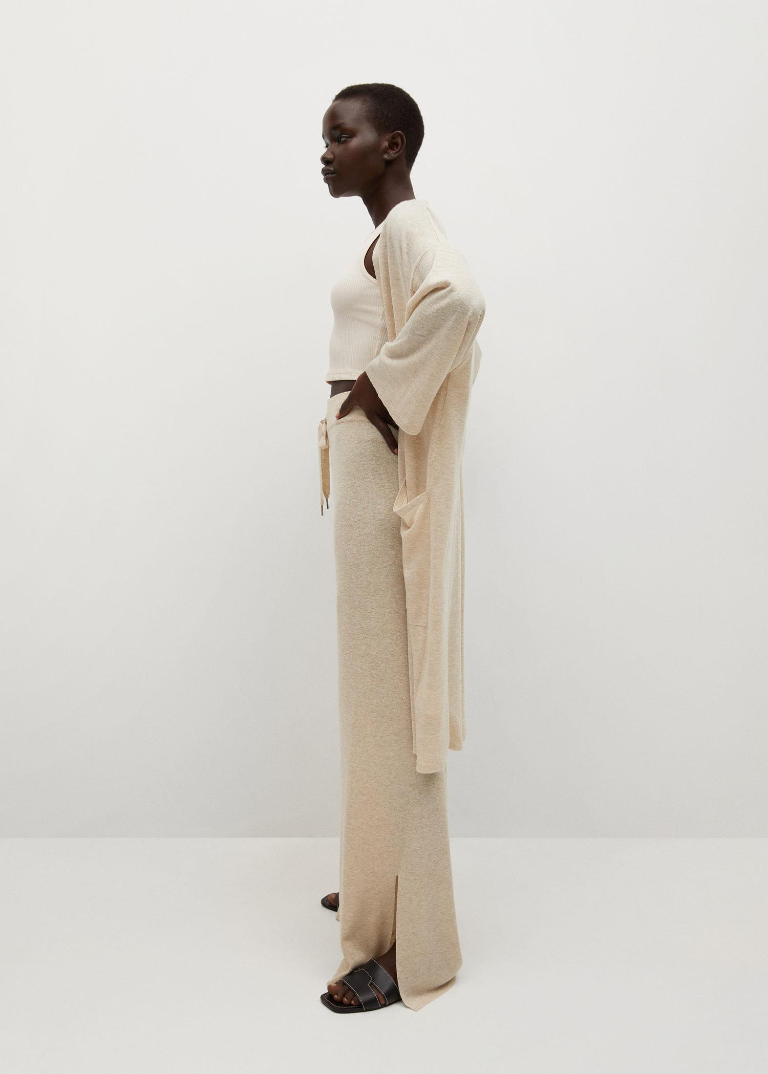 Knitted linen pants 3