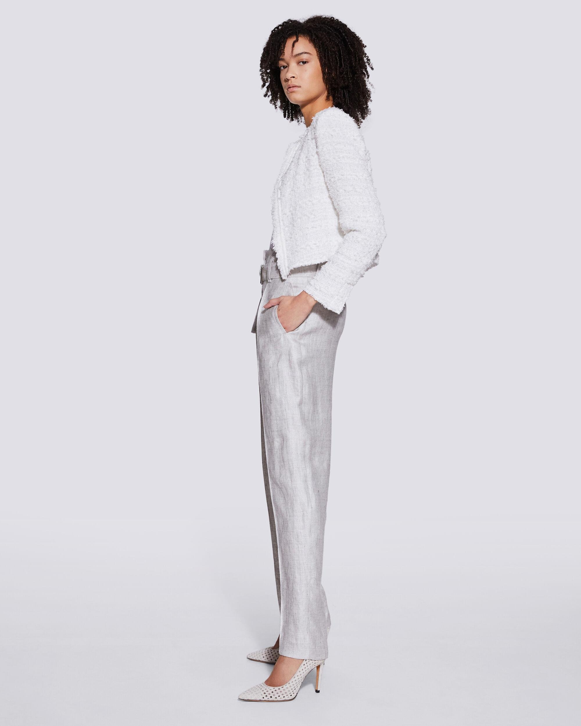 NAJAVA BELTED HIGH WAIST TROUSERS 1