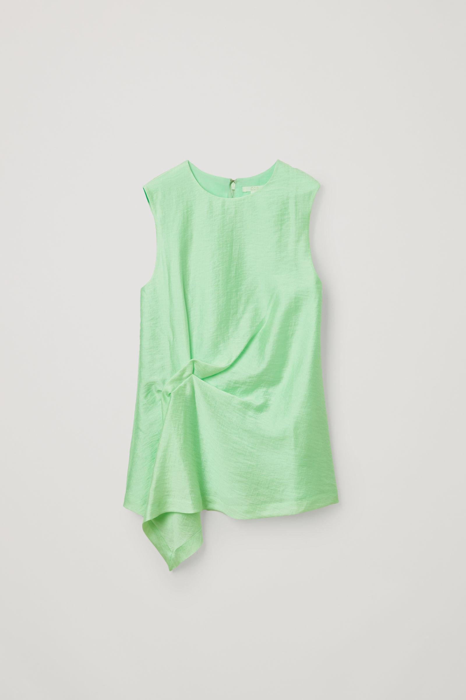 DRAPED KNOTTED TOP