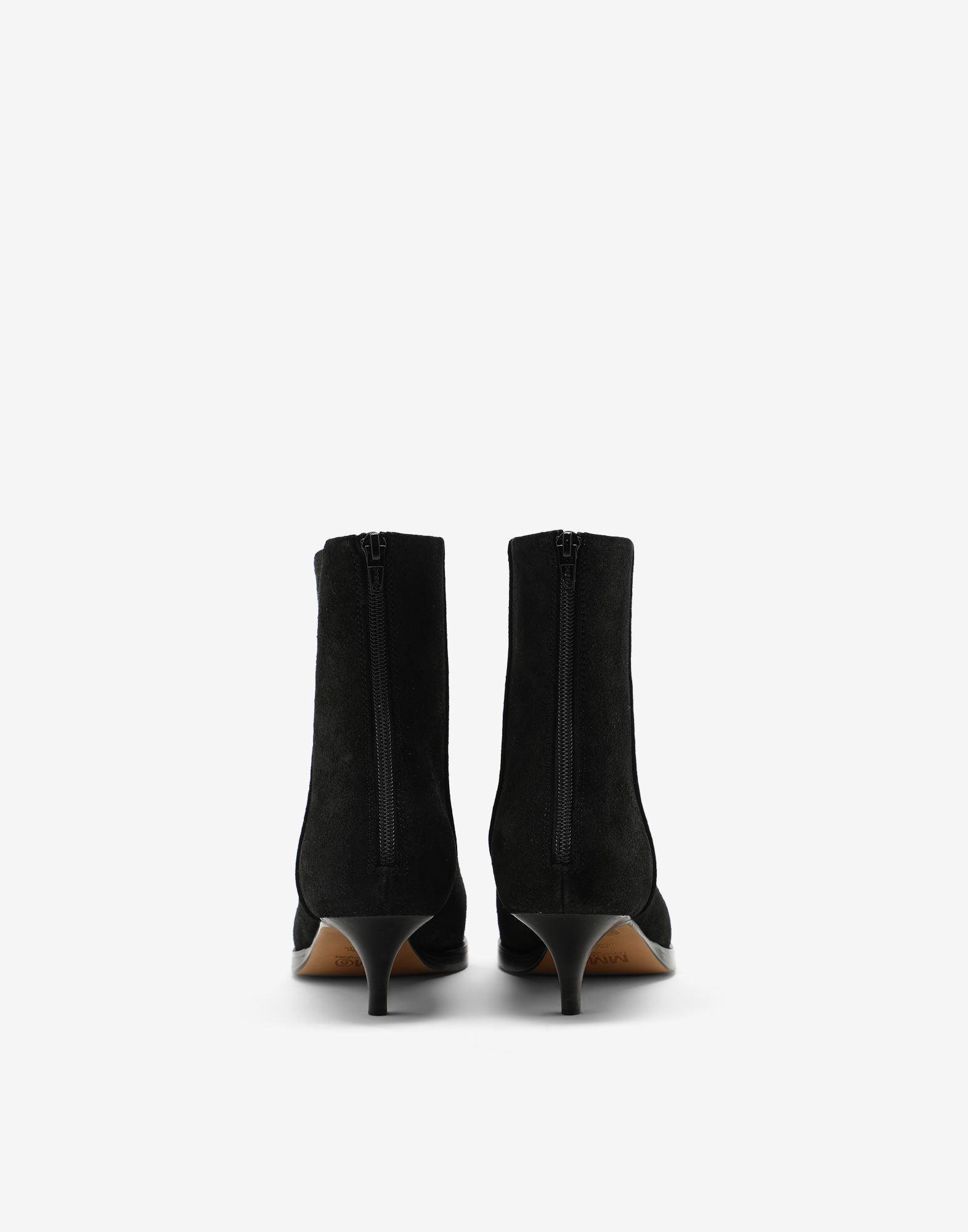 Suede ankle boots 2