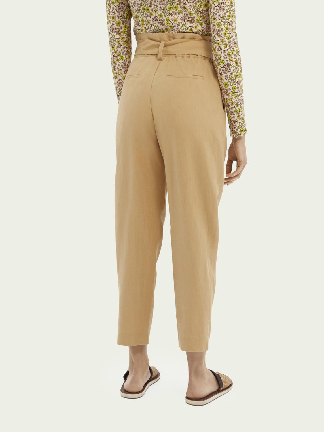 Paperbag trousers 2