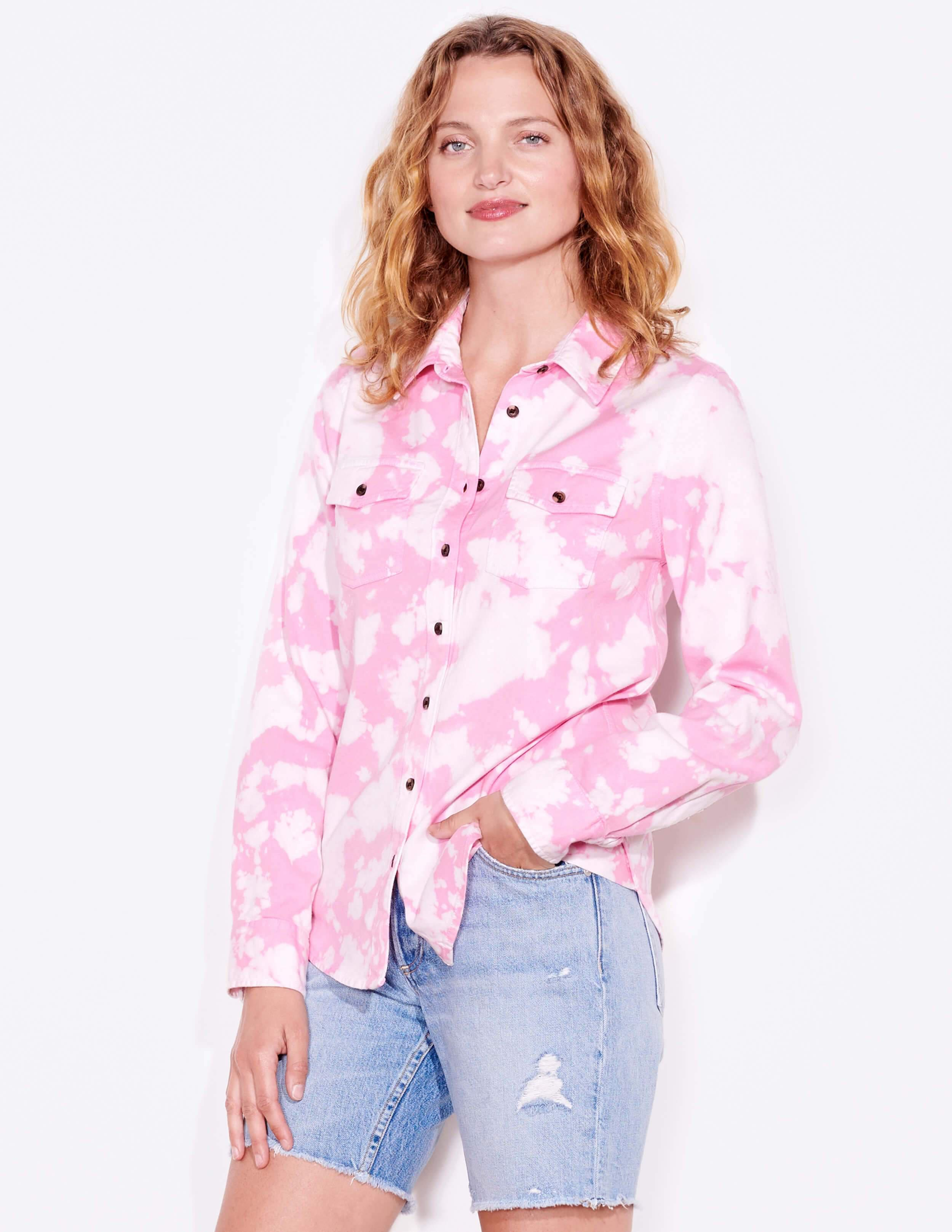 Tie Dye Classic Button-Up 3