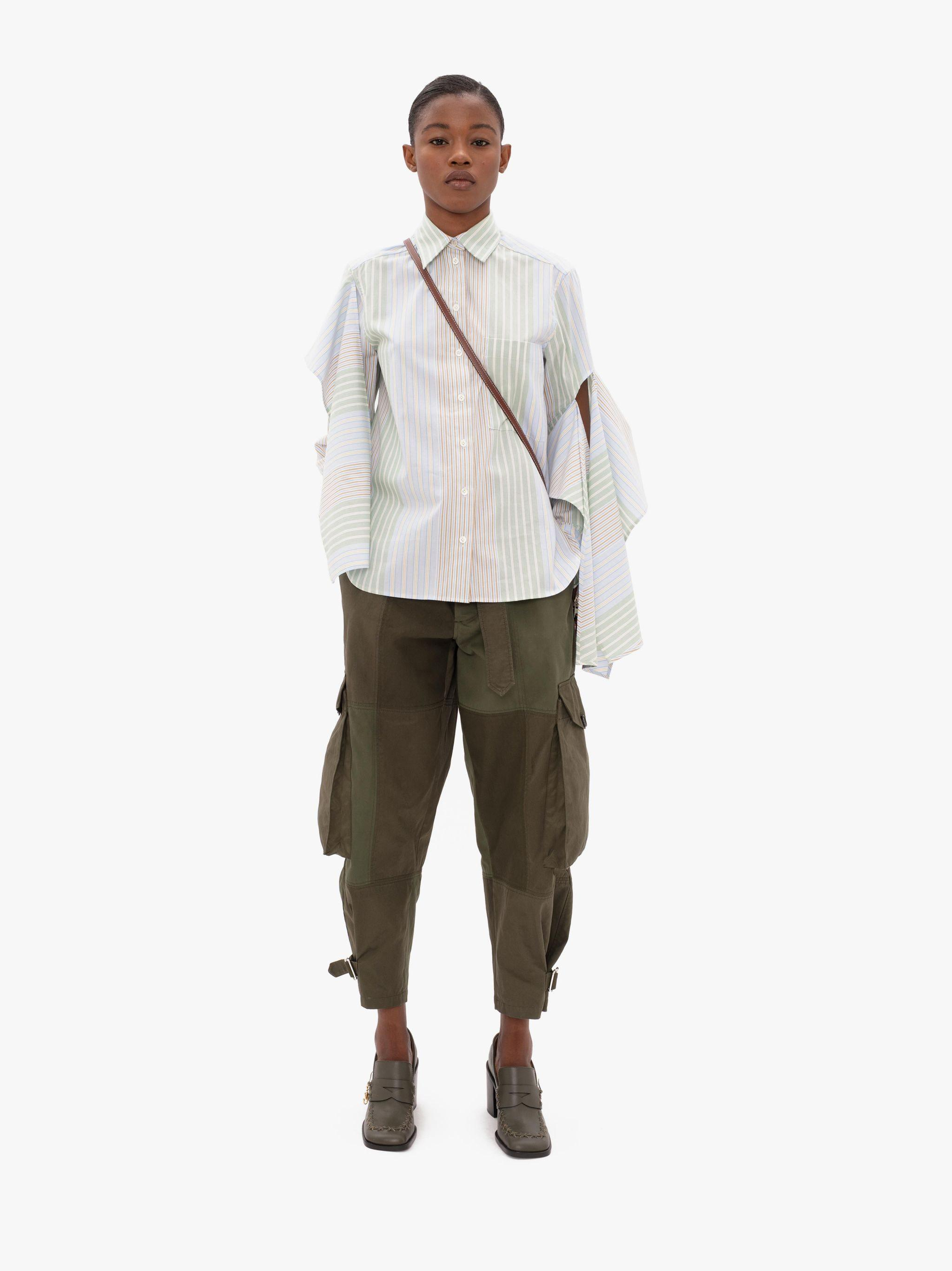 TAPERED CARGO TROUSERS