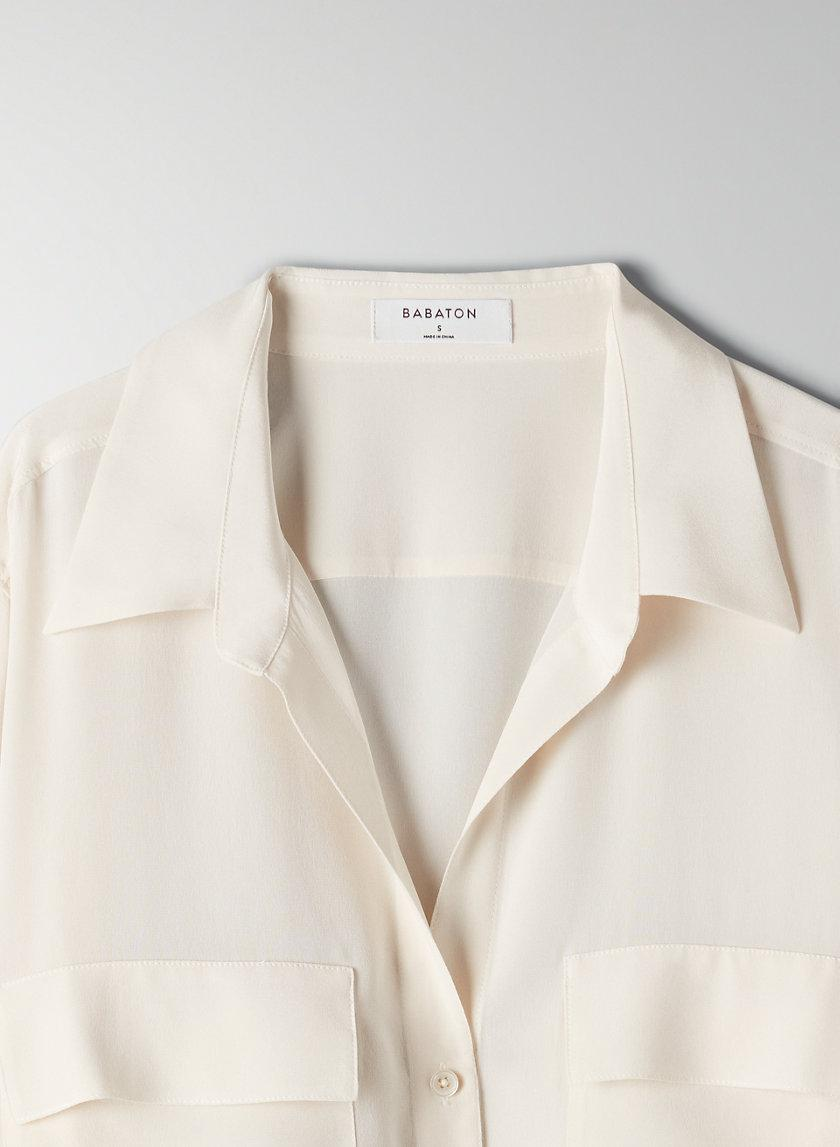 New Utility Silk Button-Up 4