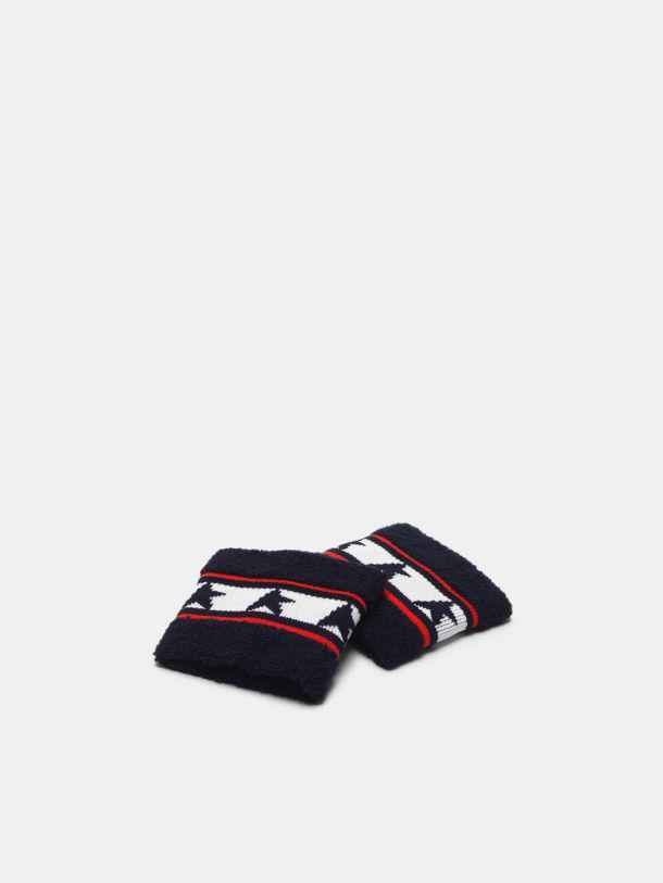 Yori wristbands in terry stitch with thread embroidery
