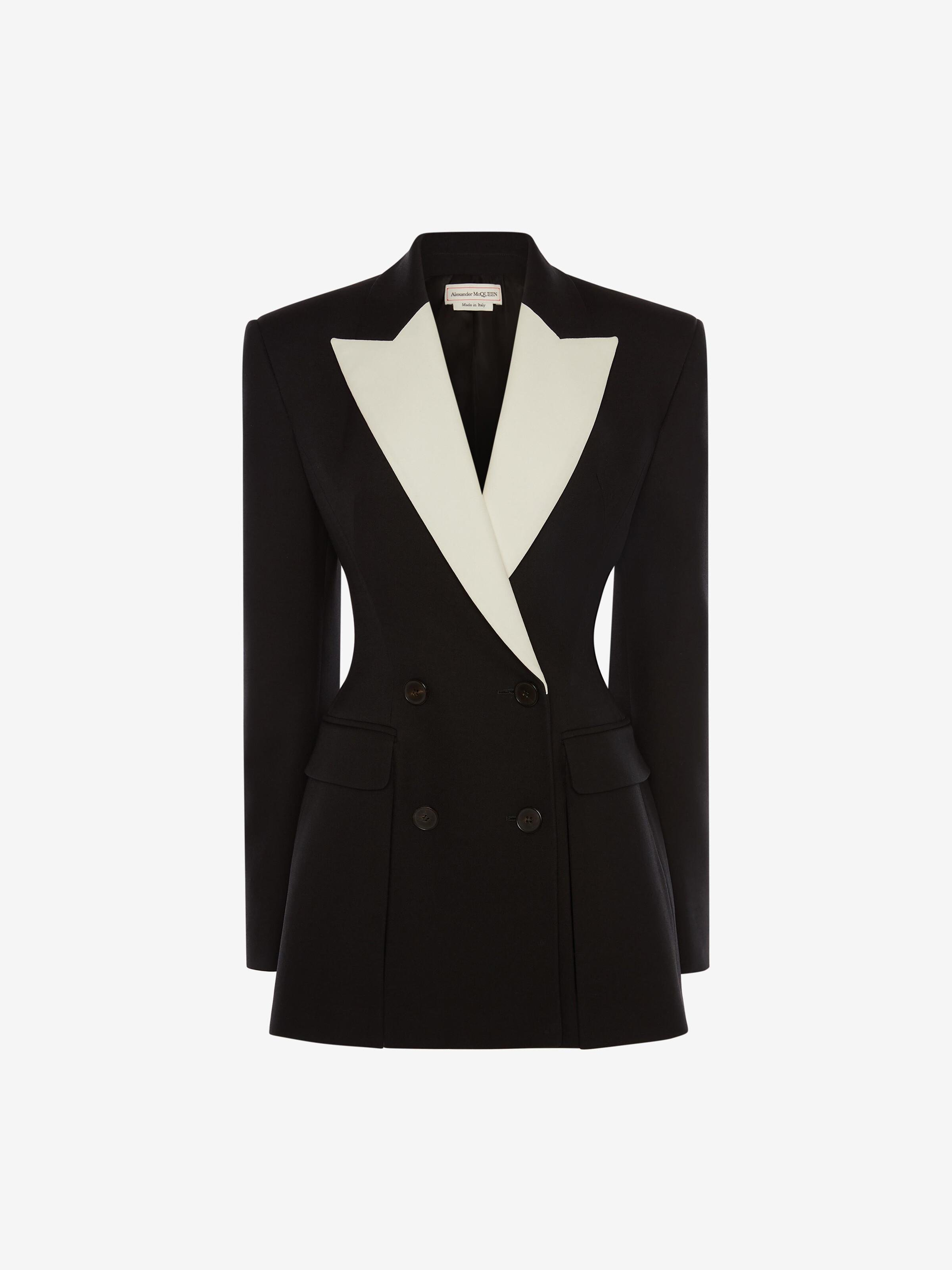Double-Breasted Box Pleat Jacket 3