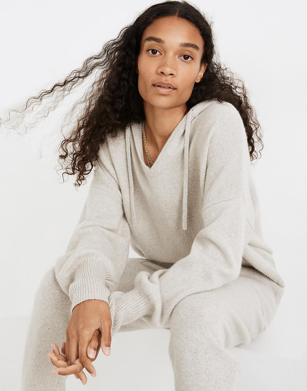 (Re)sourced Cashmere Allendale Hoodie Sweater