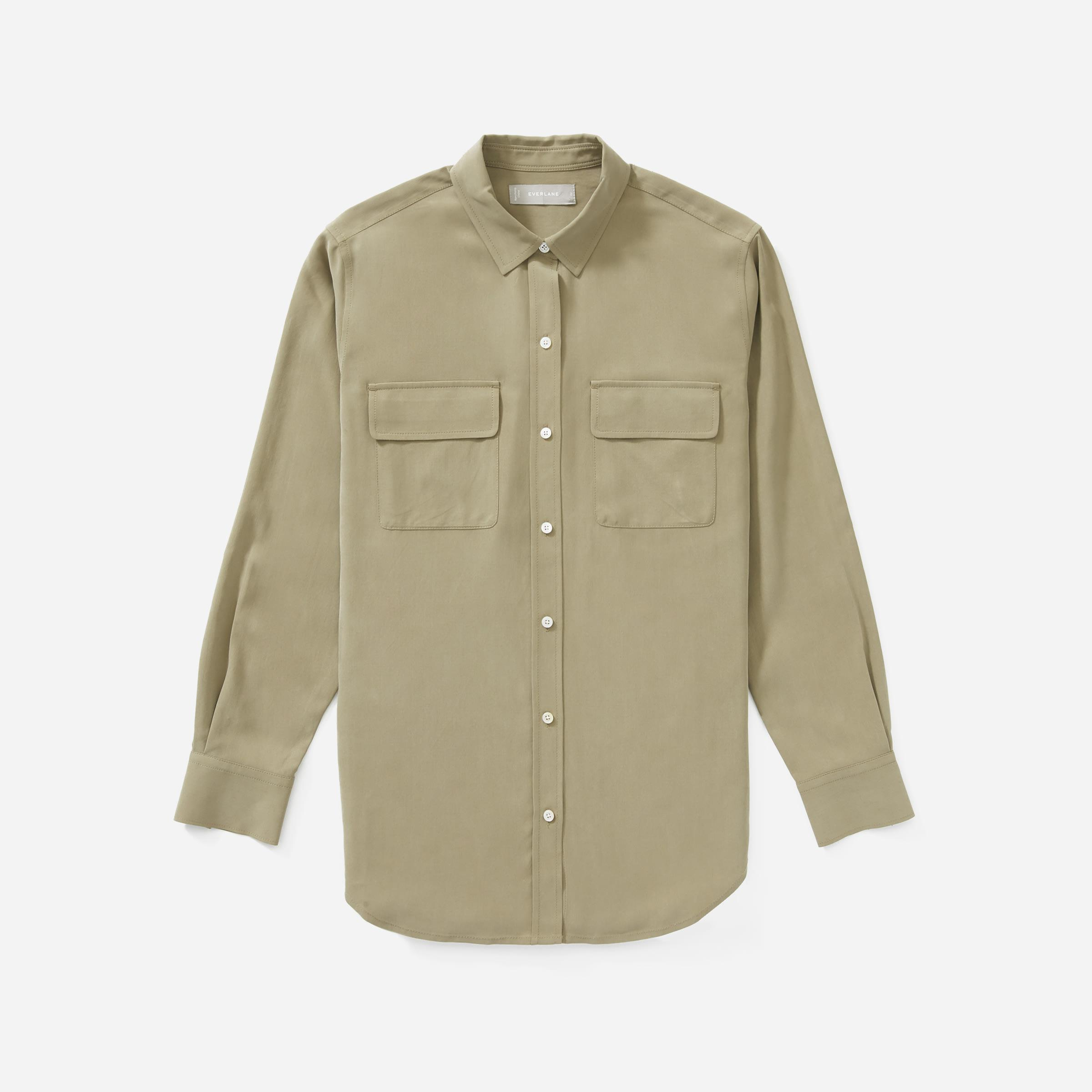 The Washable Silk Relaxed Shirt  6