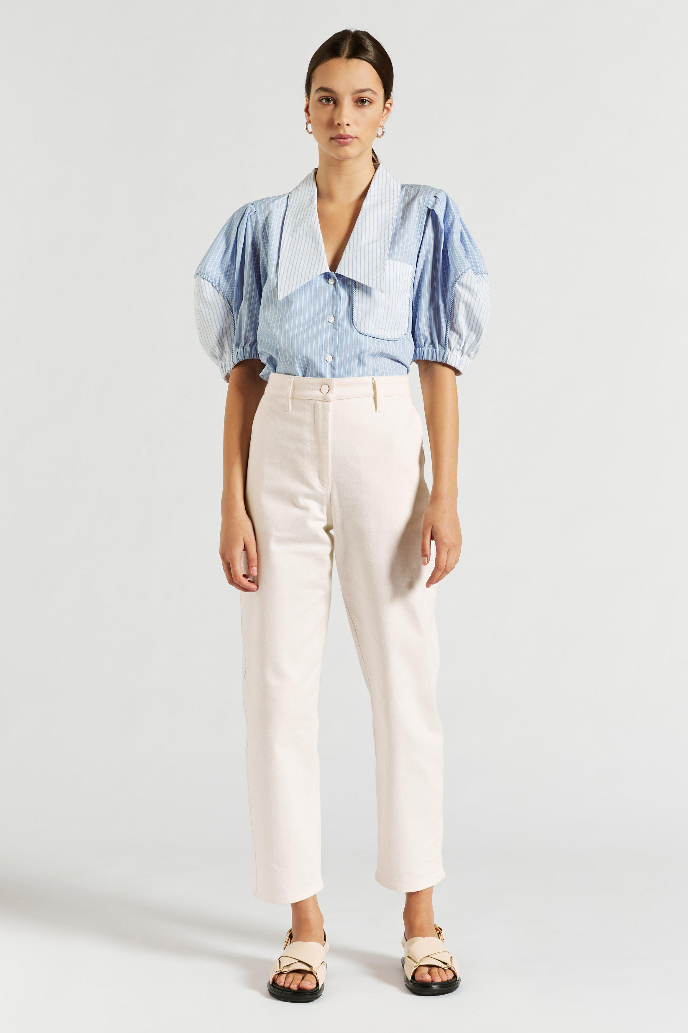 Diana Collared Blouse