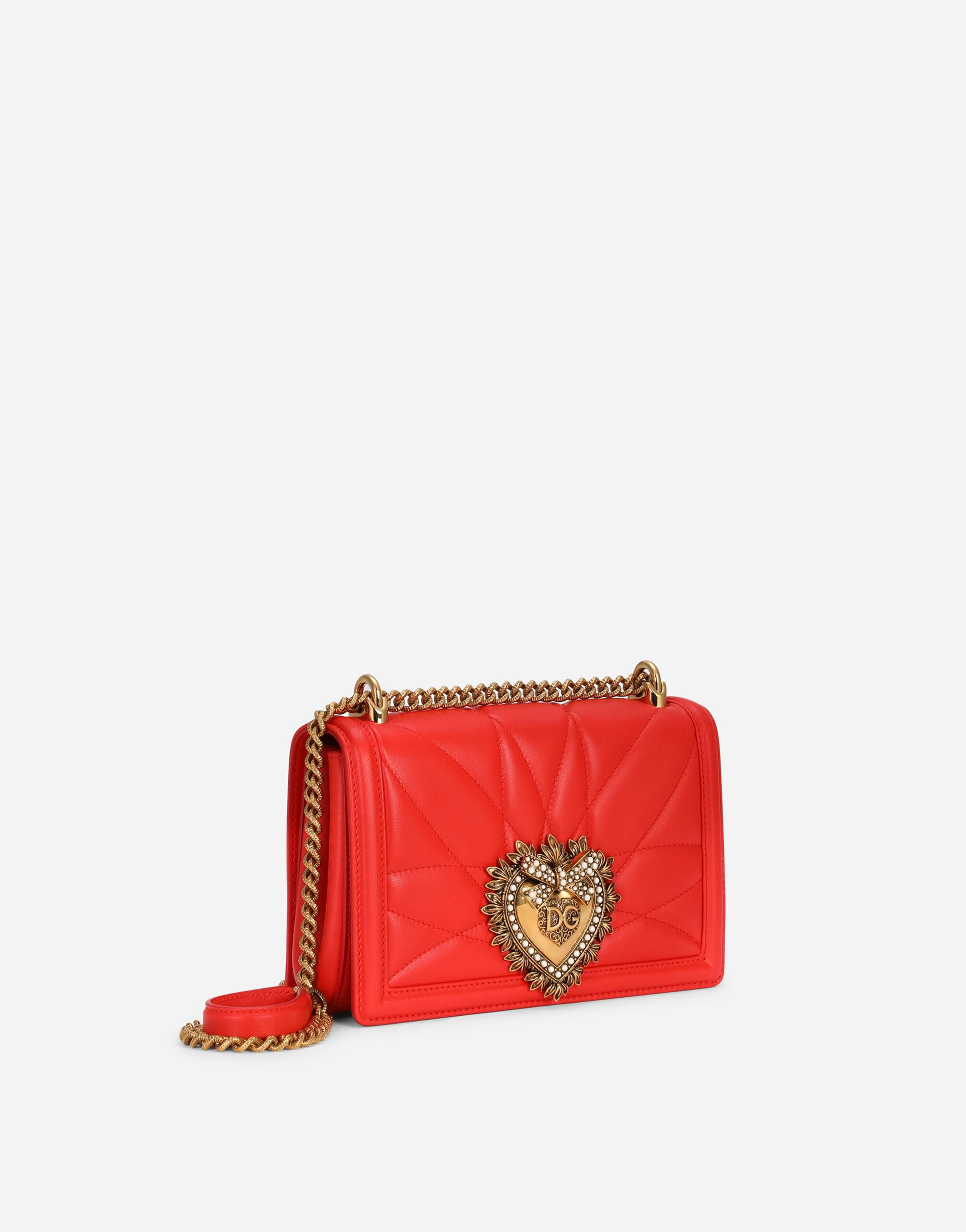 Medium Devotion crossbody bag in quilted nappa leather 1