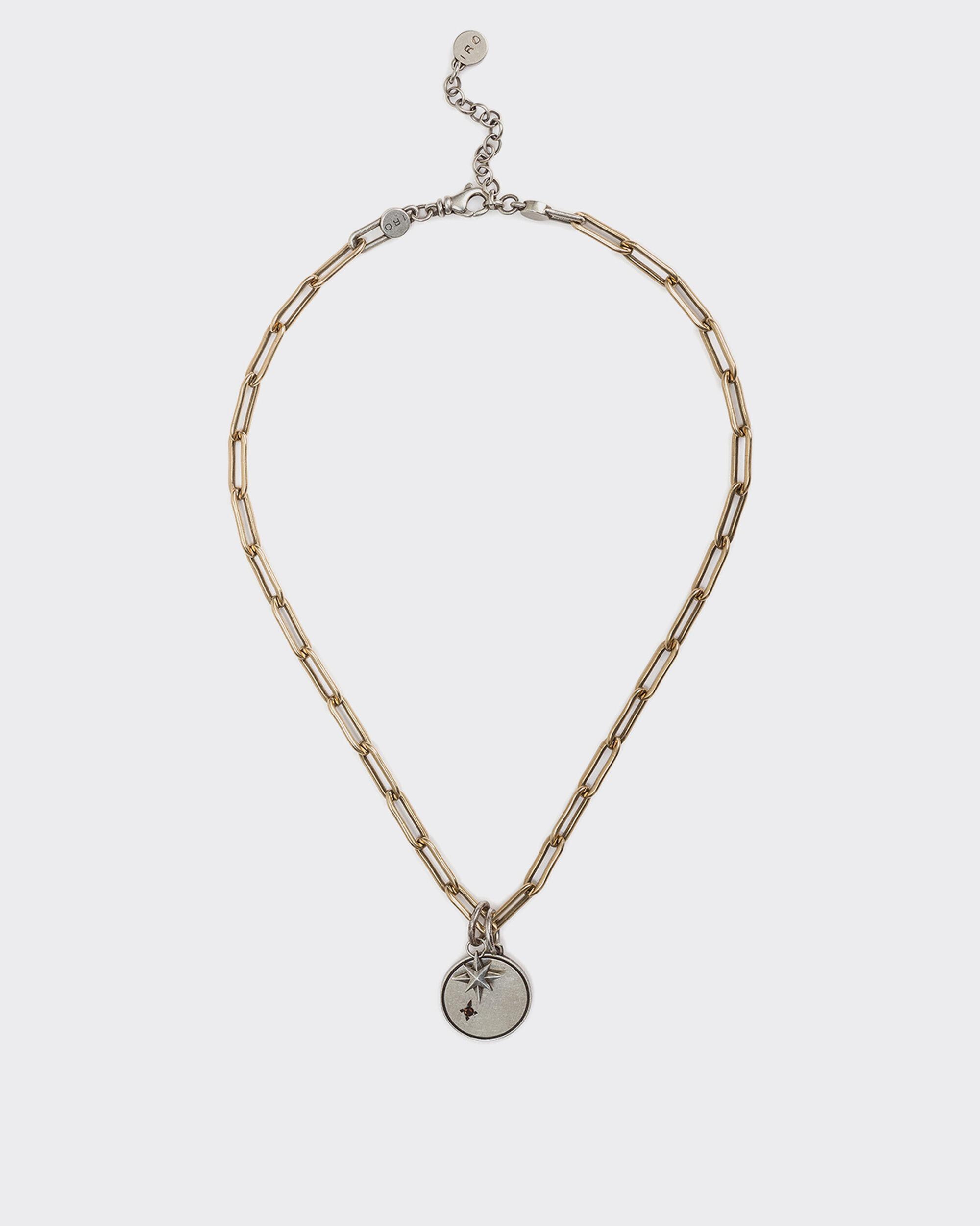 MOLYB SILVER CHAIN NECKLACE