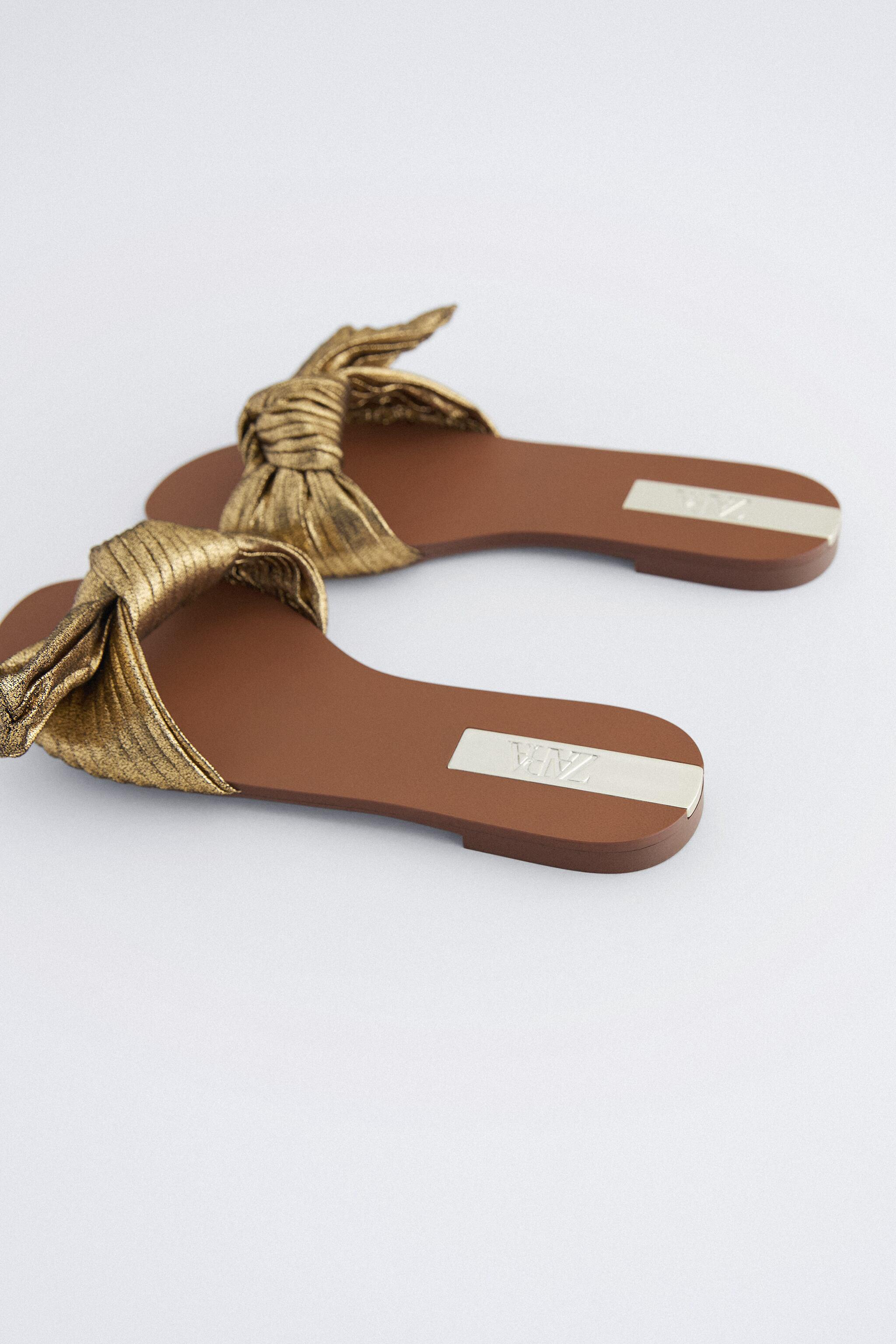 FLAT SANDALS WITH BOW 3