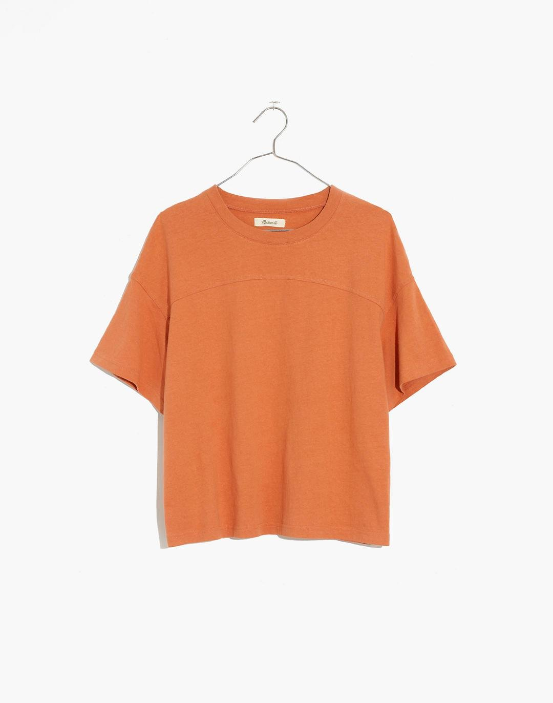(Re)sourced BioFibre™ Seamed Tee