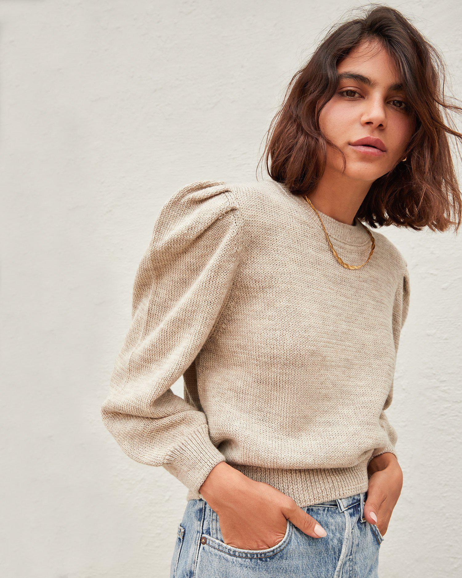 Knits for Good Oatmeal Sweater 1