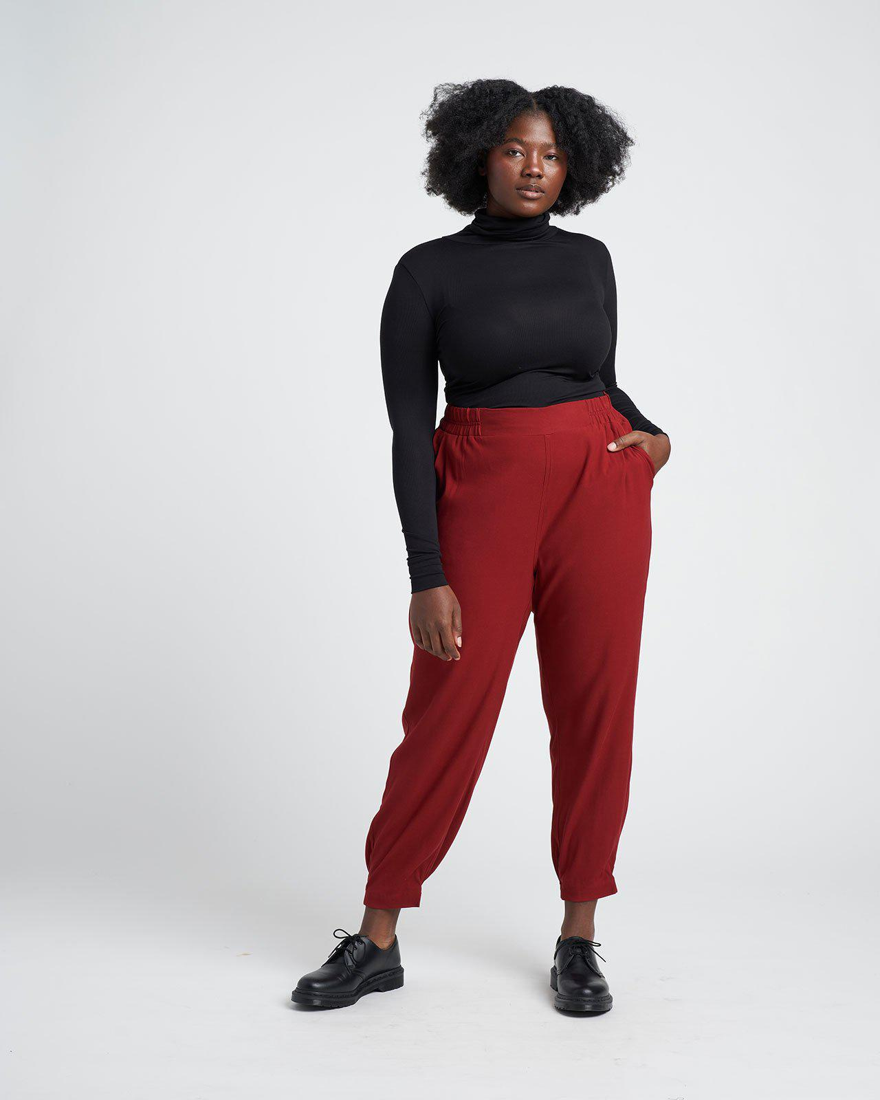 Dylan Luxe Twill Joggers 1