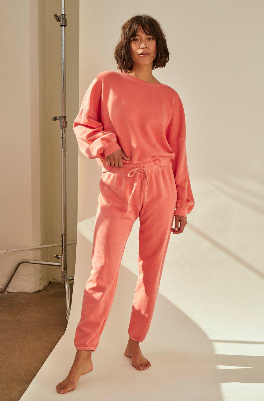CROPPED SWEATPANT FLAME