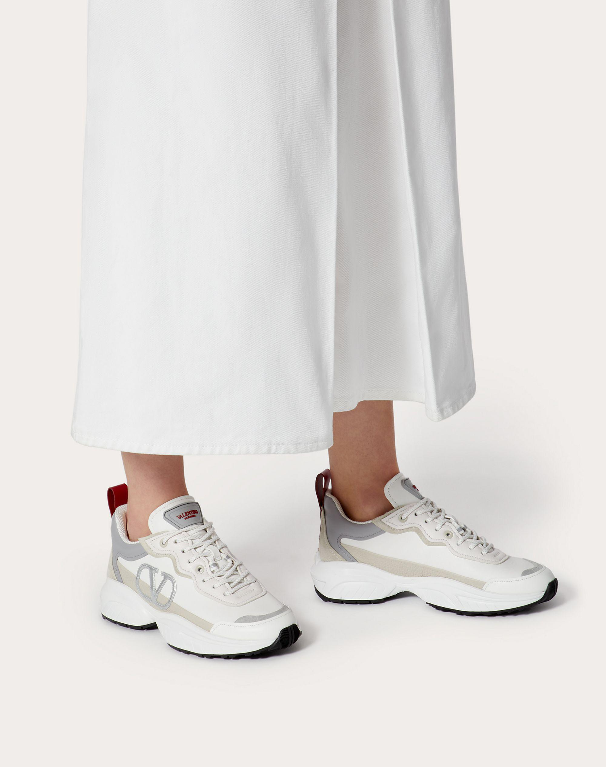 SHEGOES Sneaker in split leather and calfskin leather 5