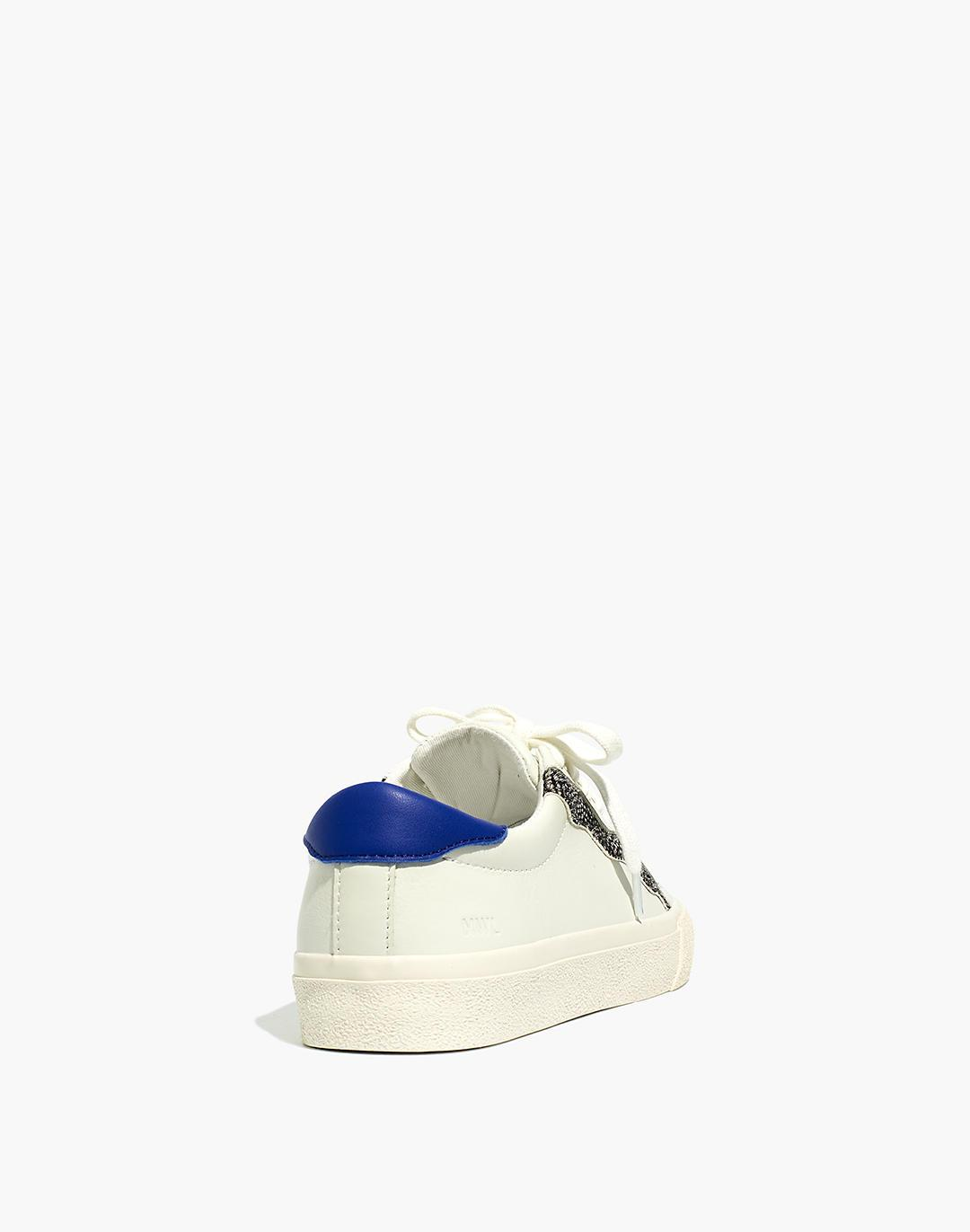Sidewalk Low-Top Sneakers in Leather and Calf Hair: Wave Edition 2