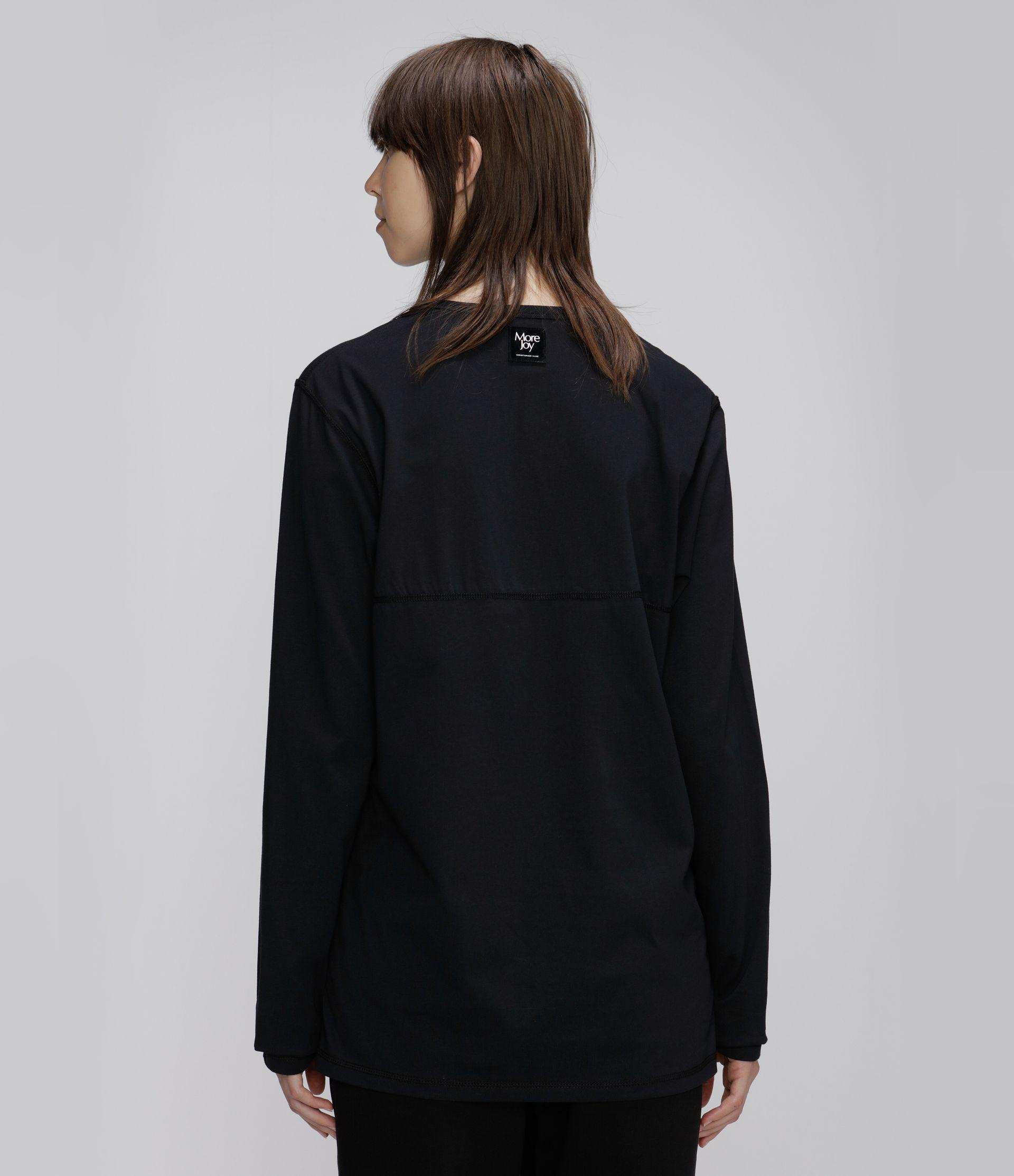 More Joy embroidered long sleeve t-shirt 2